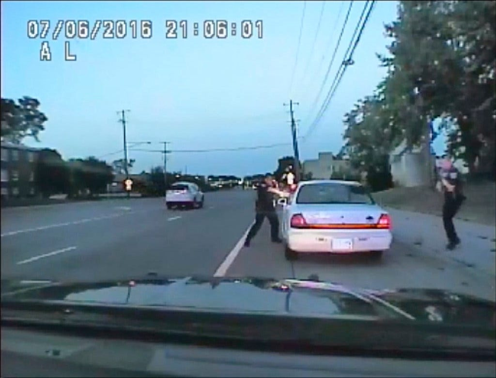 New video after Philando Castile shooting: 'Mom... I don't want you to get shooted'