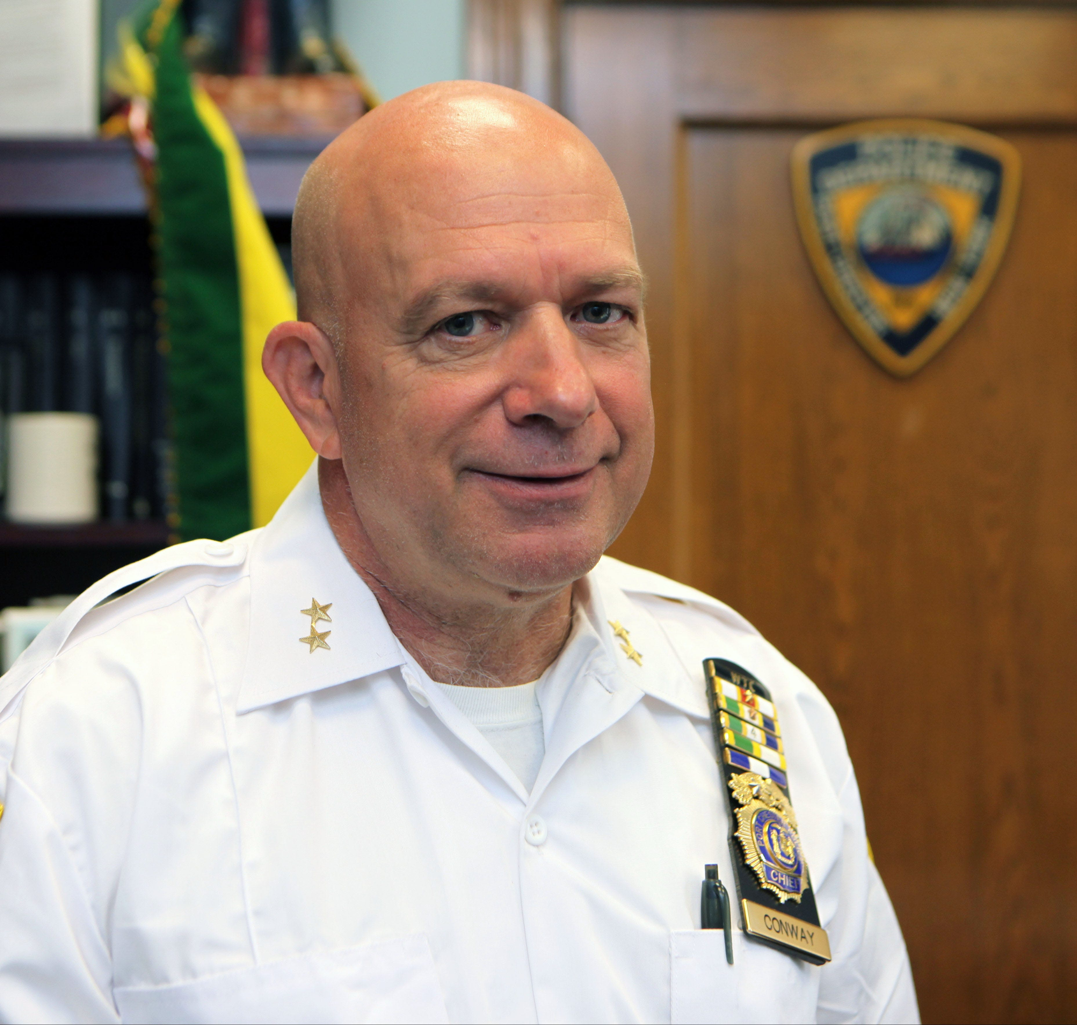 Port Chester Police Chief Richard F. Conway, photographed June 21, 2017, cashed in days worth $113,343 when he retired. In retrospect, he said he wished he'd taken more days off instead of banking them.