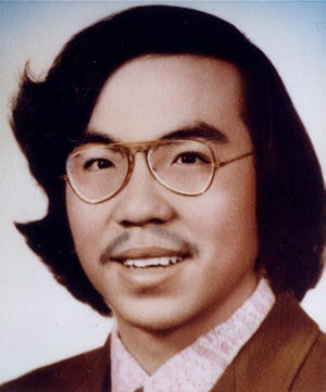 An undated picture of Vincent Chin. Chin, a Chinese-American, was beaten to death by two unemployed autoworkers who mistook him for Japanese.