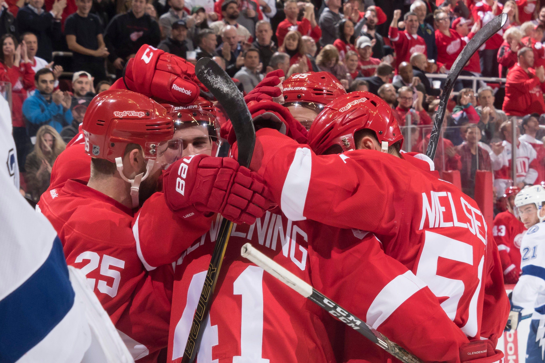 17 weekend home games highlight Wings' '17-18 schedule