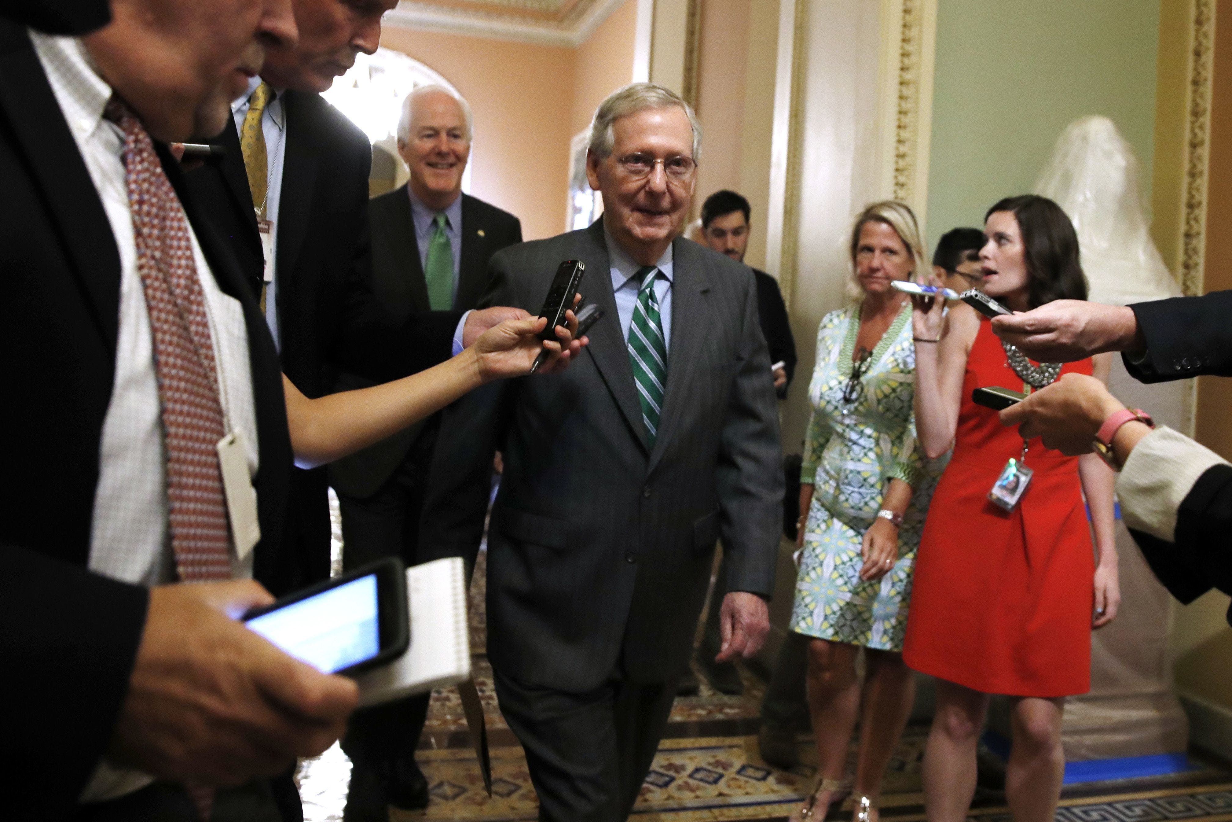 Senate health care bill already under fire from GOP members