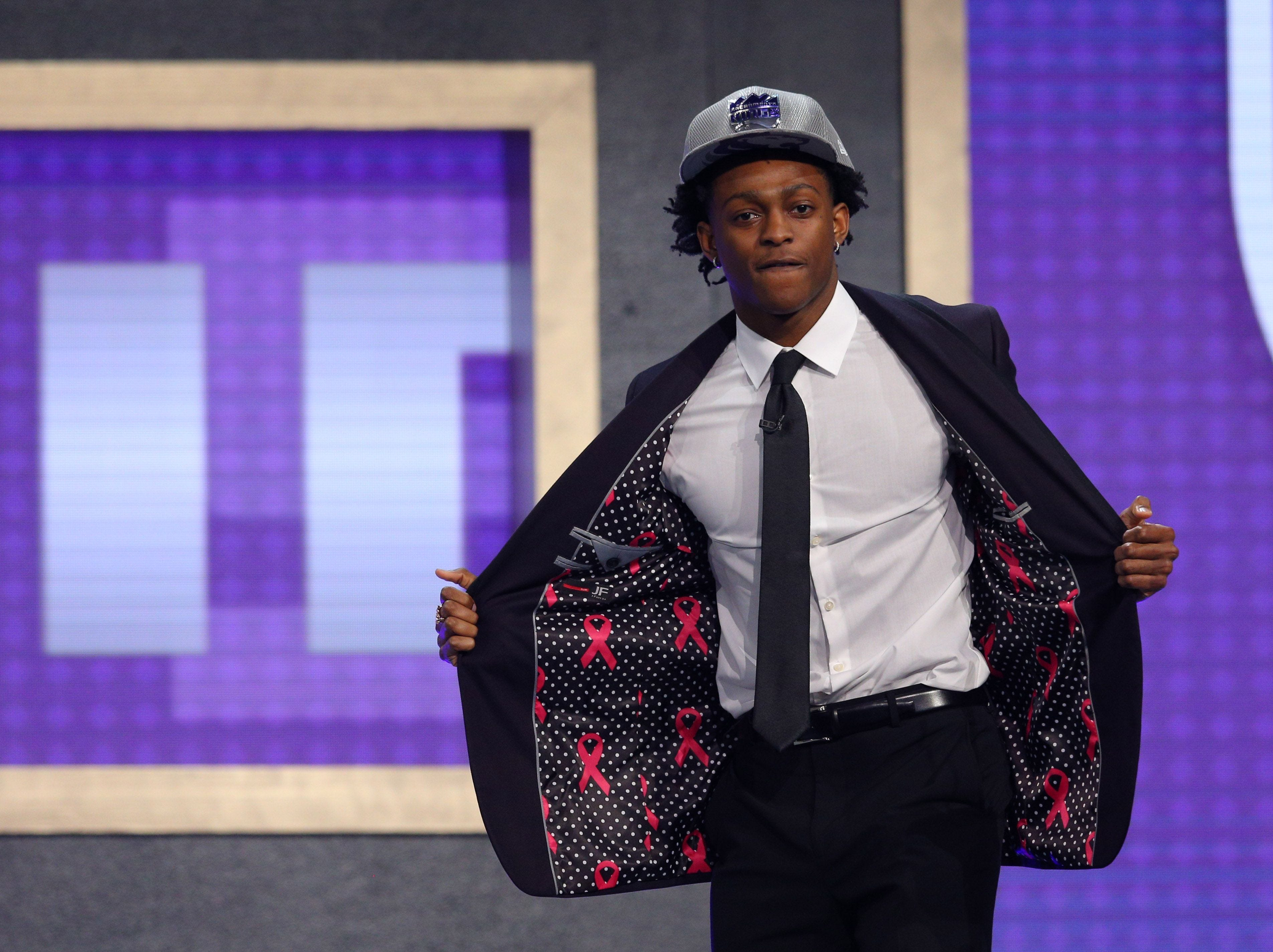 NBA draft: Top five goes all freshmen for first time in history