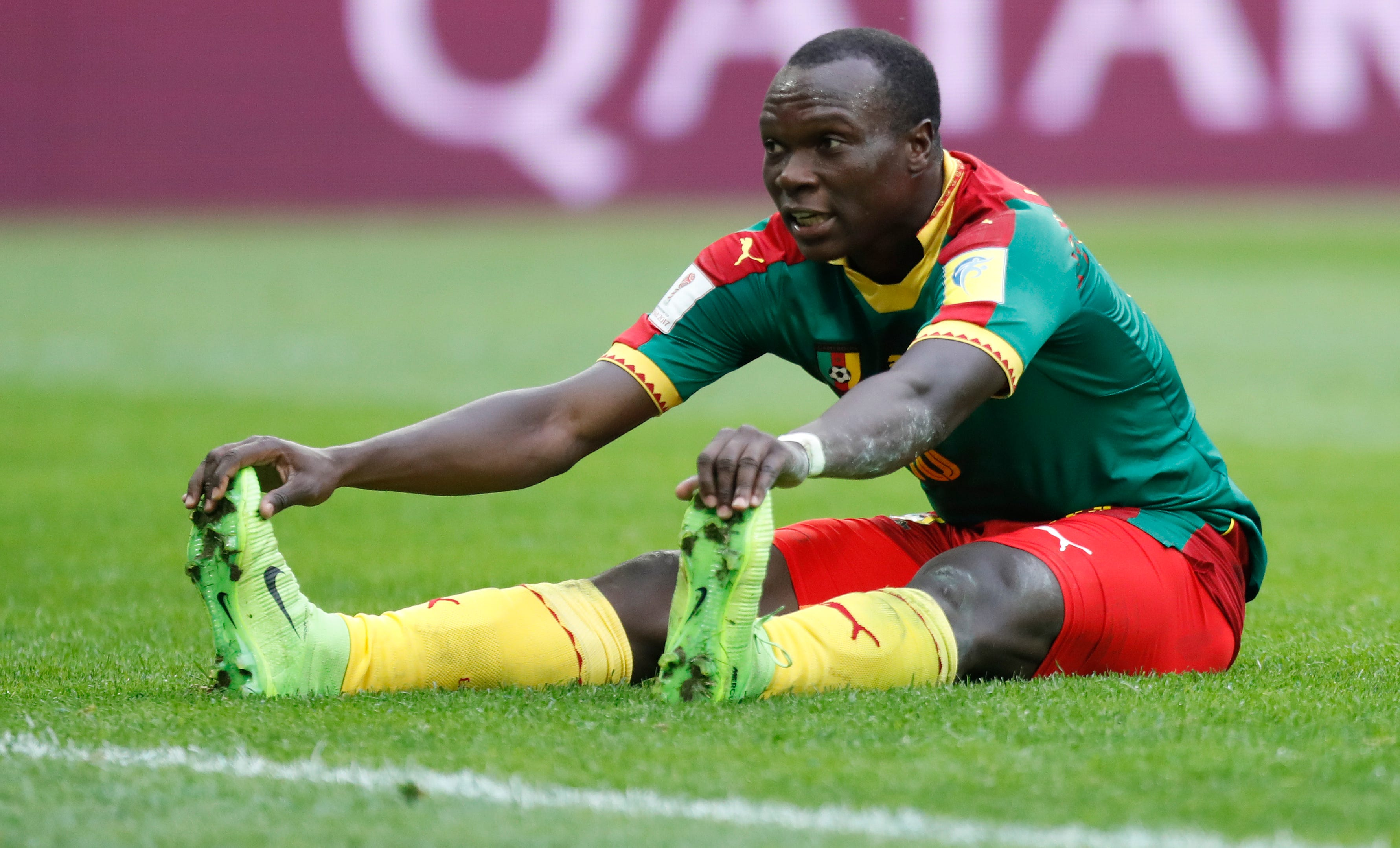 Cameroon's Aboubakar lets Australia off hook at Confed Cup