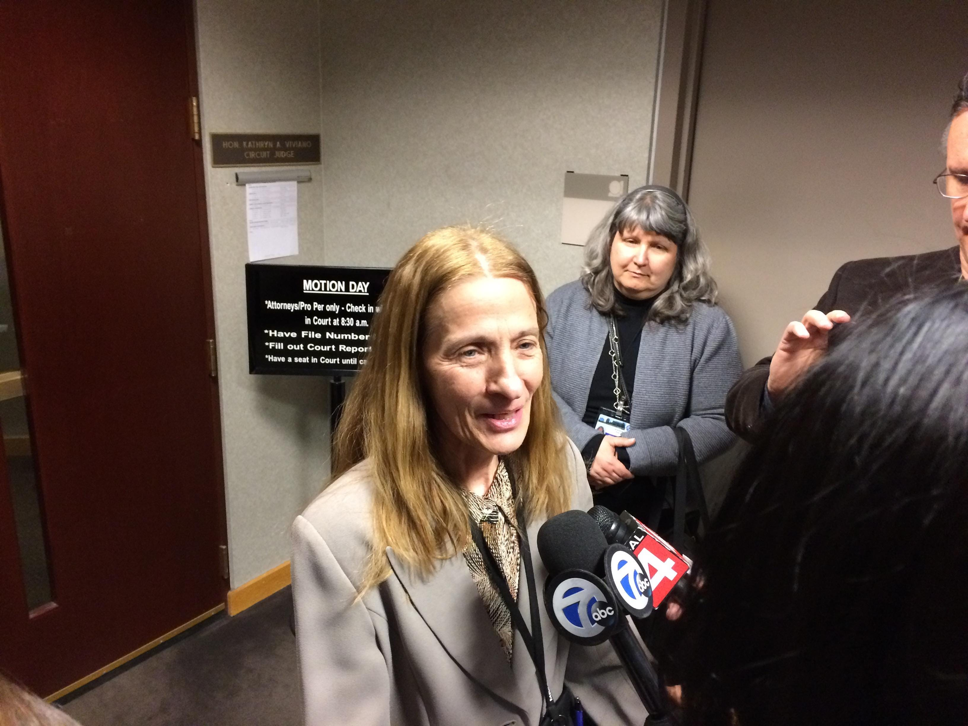 Macomb Clerk sues over firearm ban in county offices