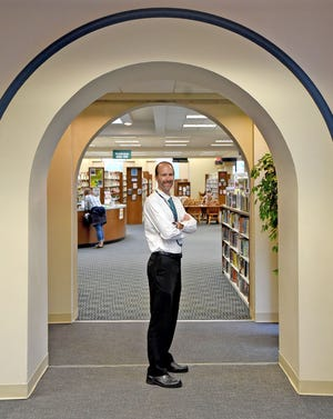 Chris May will take over as the director of the Mansfield-Richland County Public Library on July 8.