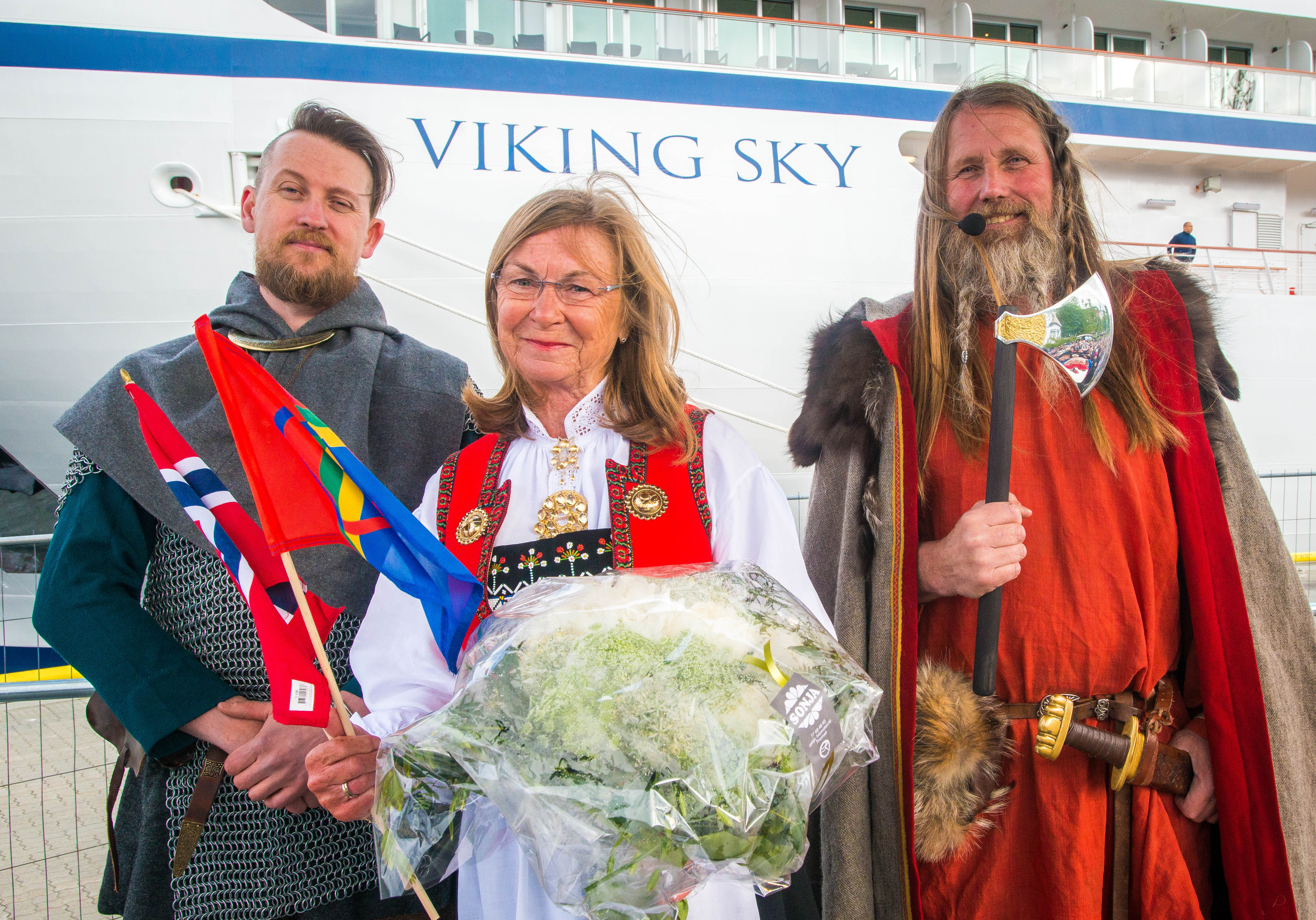 Fast-growing Viking Cruises christens third ocean ship