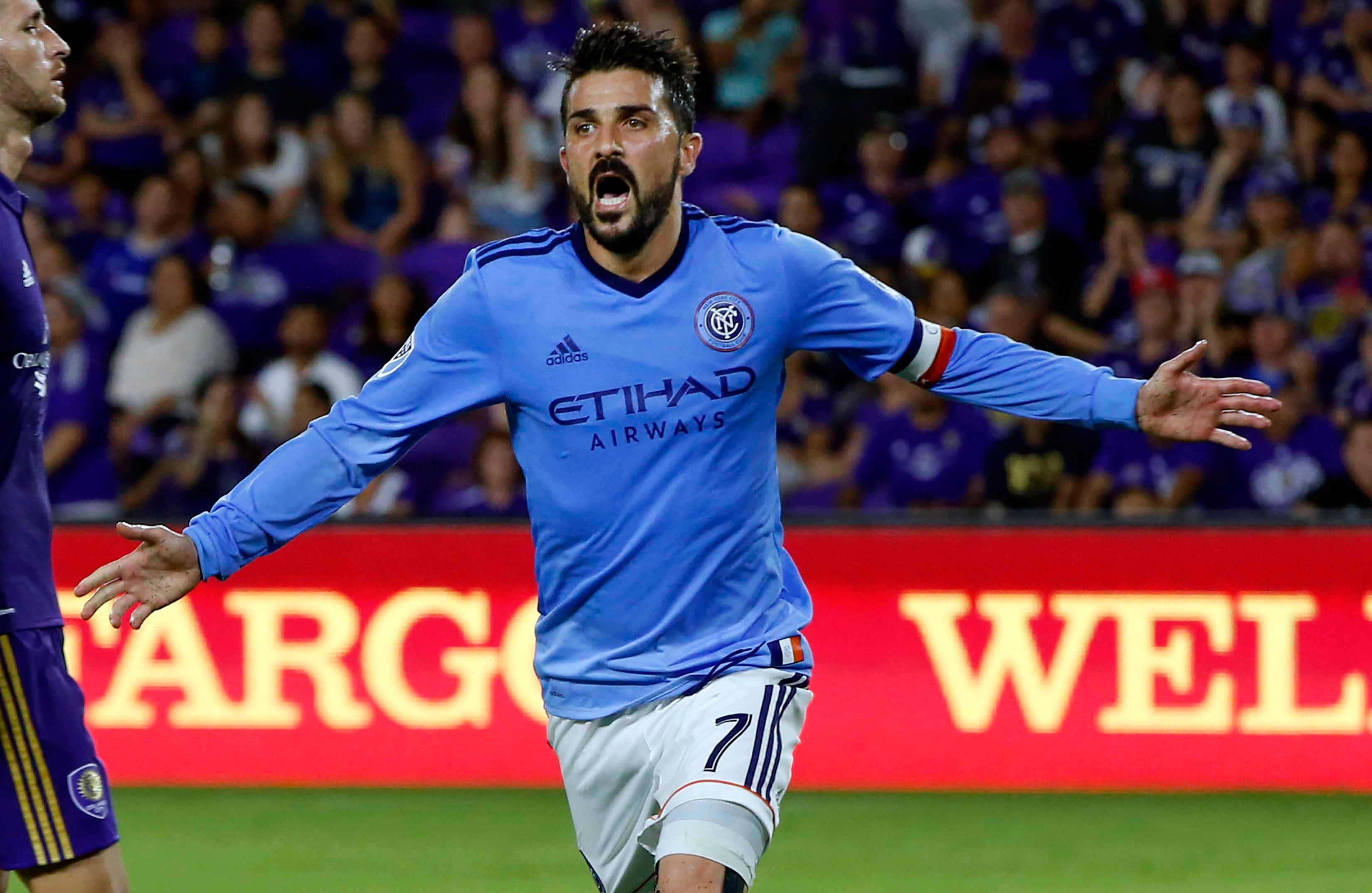 David Villa of NYCFC  is (still) living up to the hype
