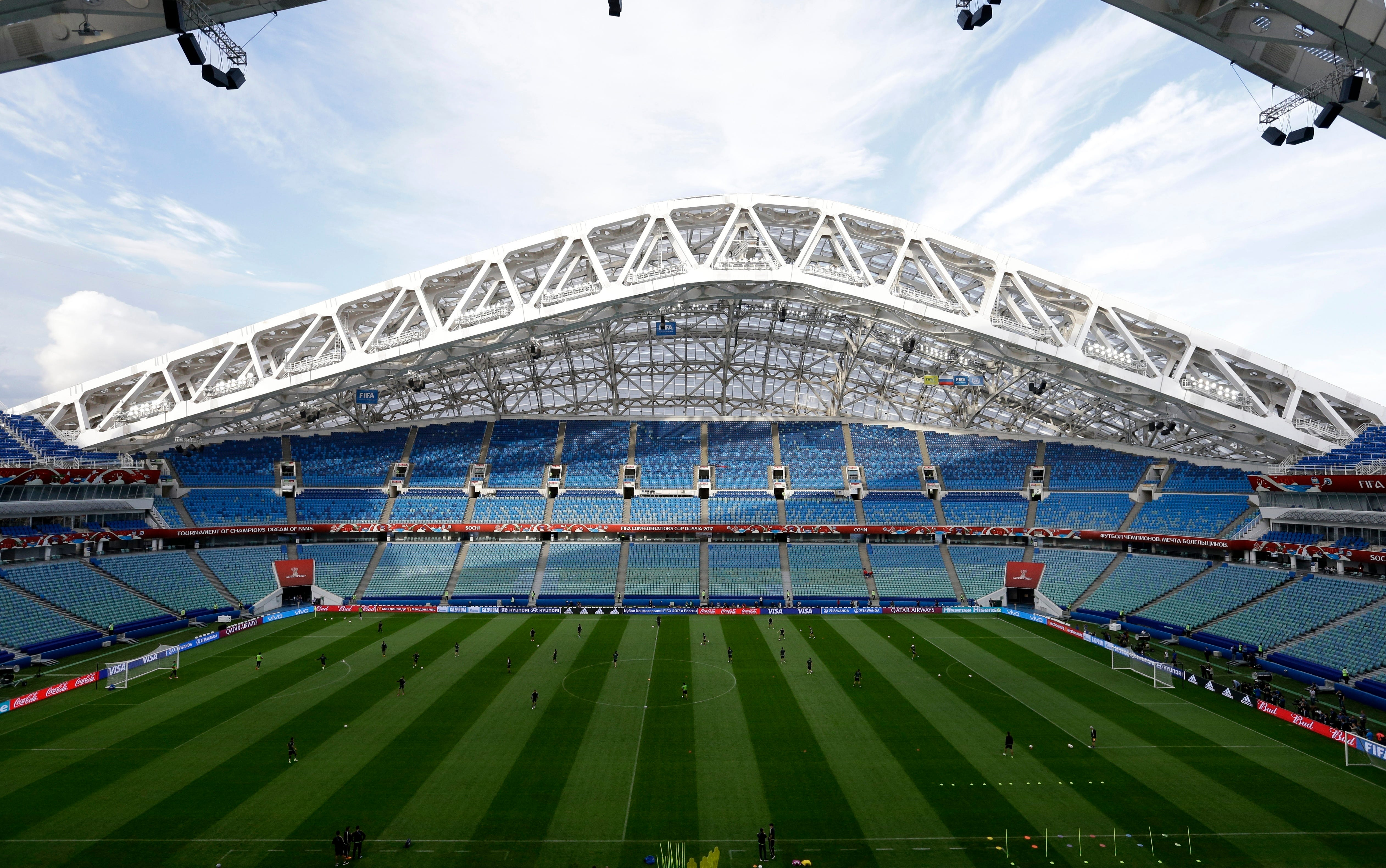 Sochi club withdraws from league in blow to World Cup plans