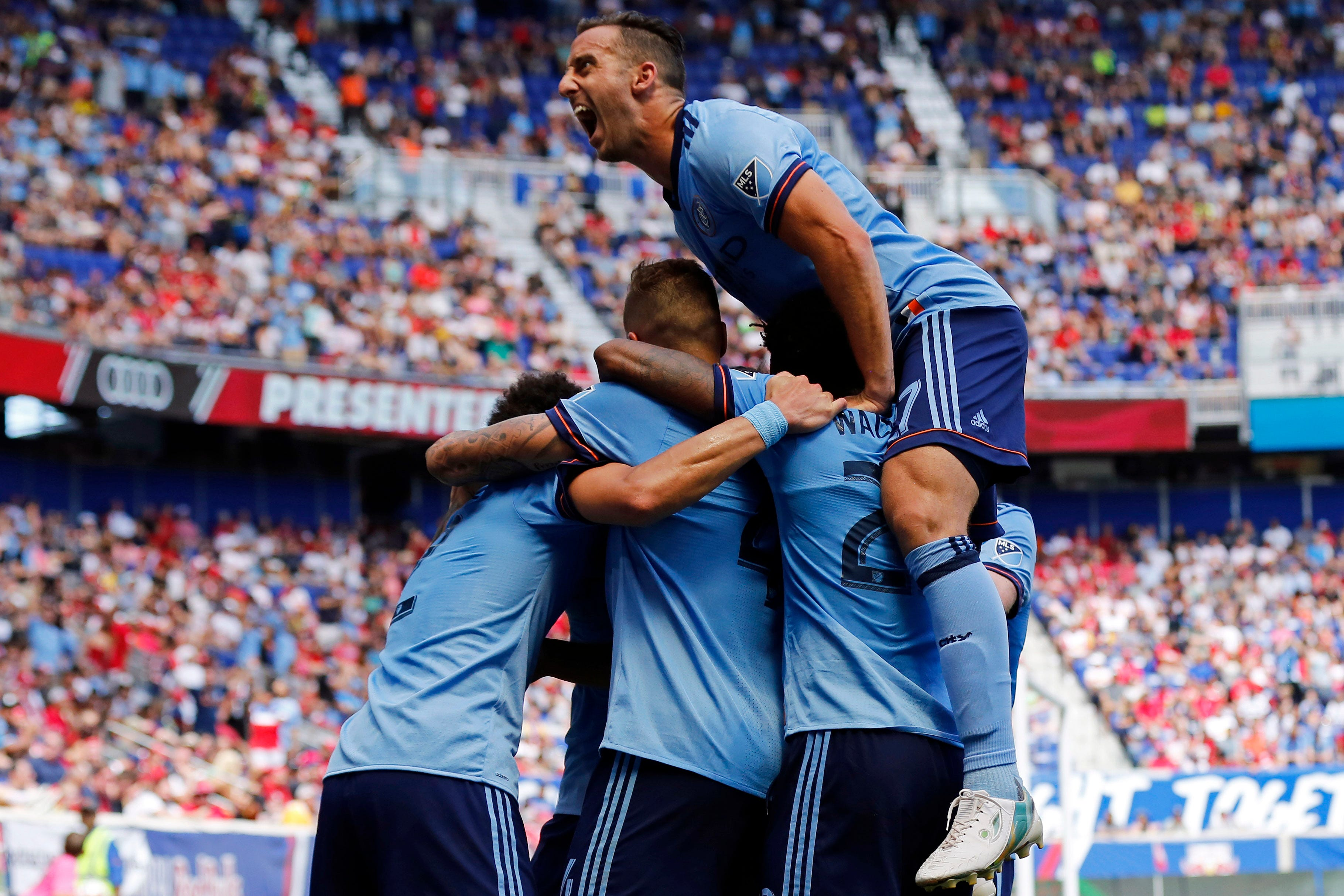 NYCFC claims rare win over New York Red Bulls in Hudson River Derby