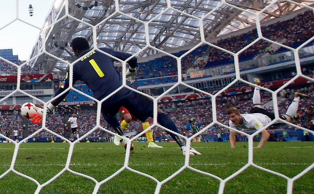 Germany reaches Confederations Cup semis amid more replay confusion