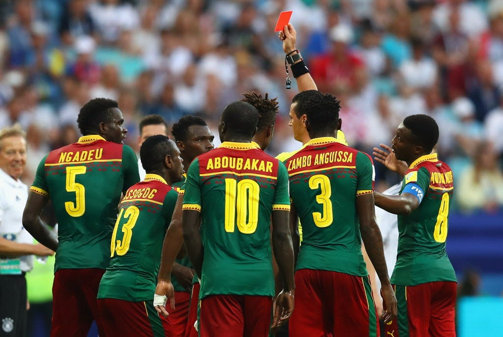 FIFA's video review system under scrutiny again at Confederations Cup