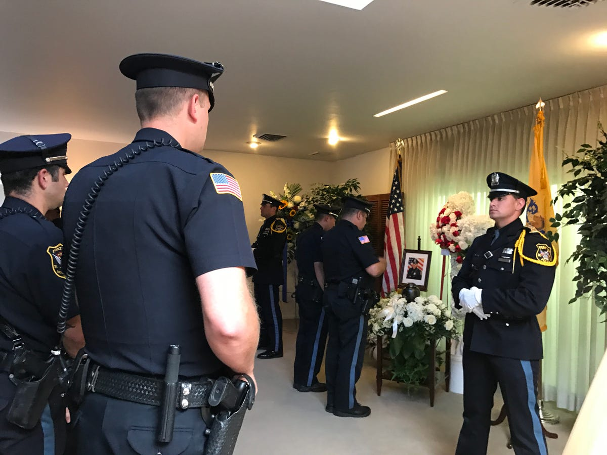 Fort Lee lays Police Officer David Kurz to rest