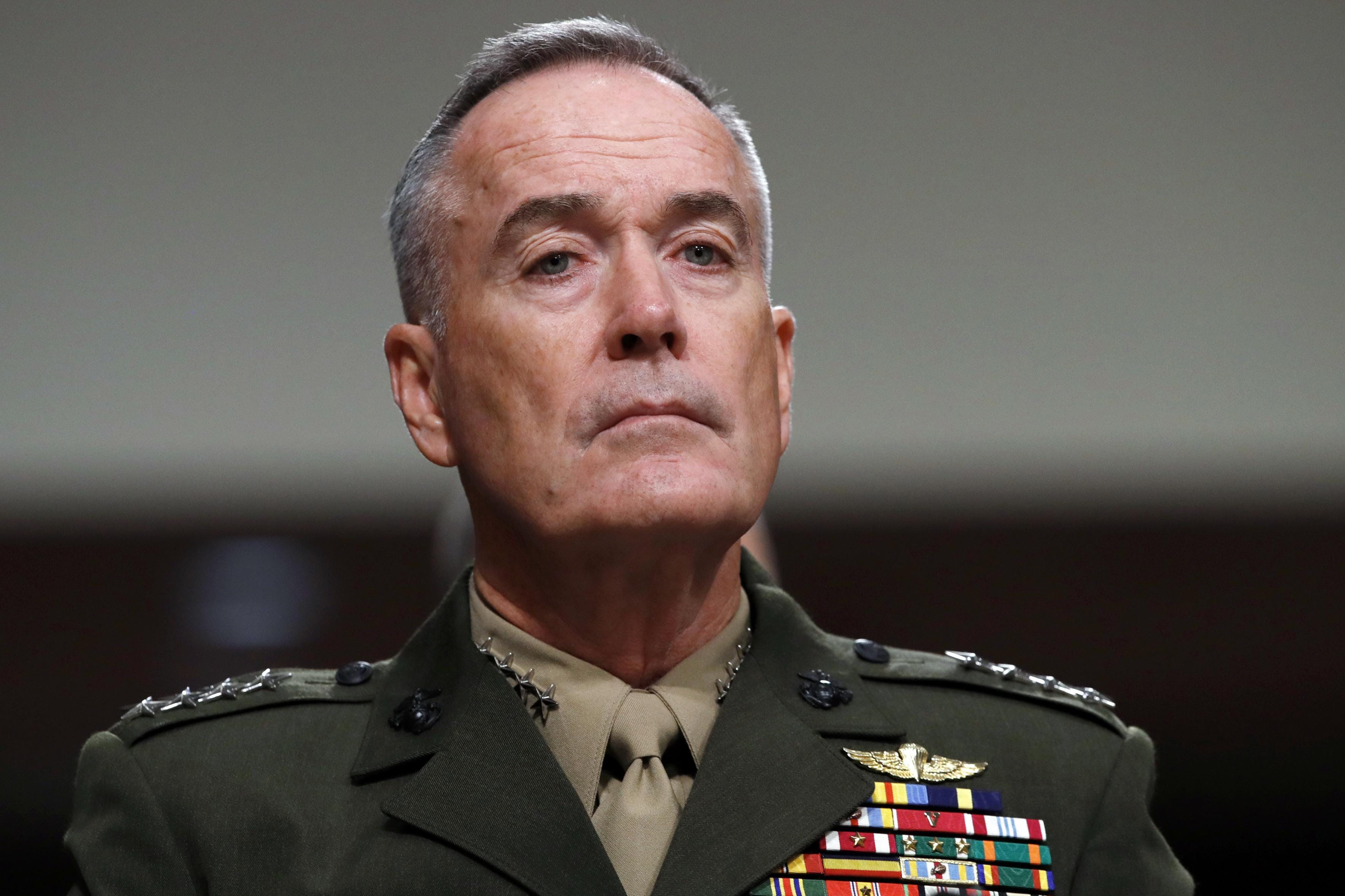 Joint chiefs chairman in Afghanistan to push strategy