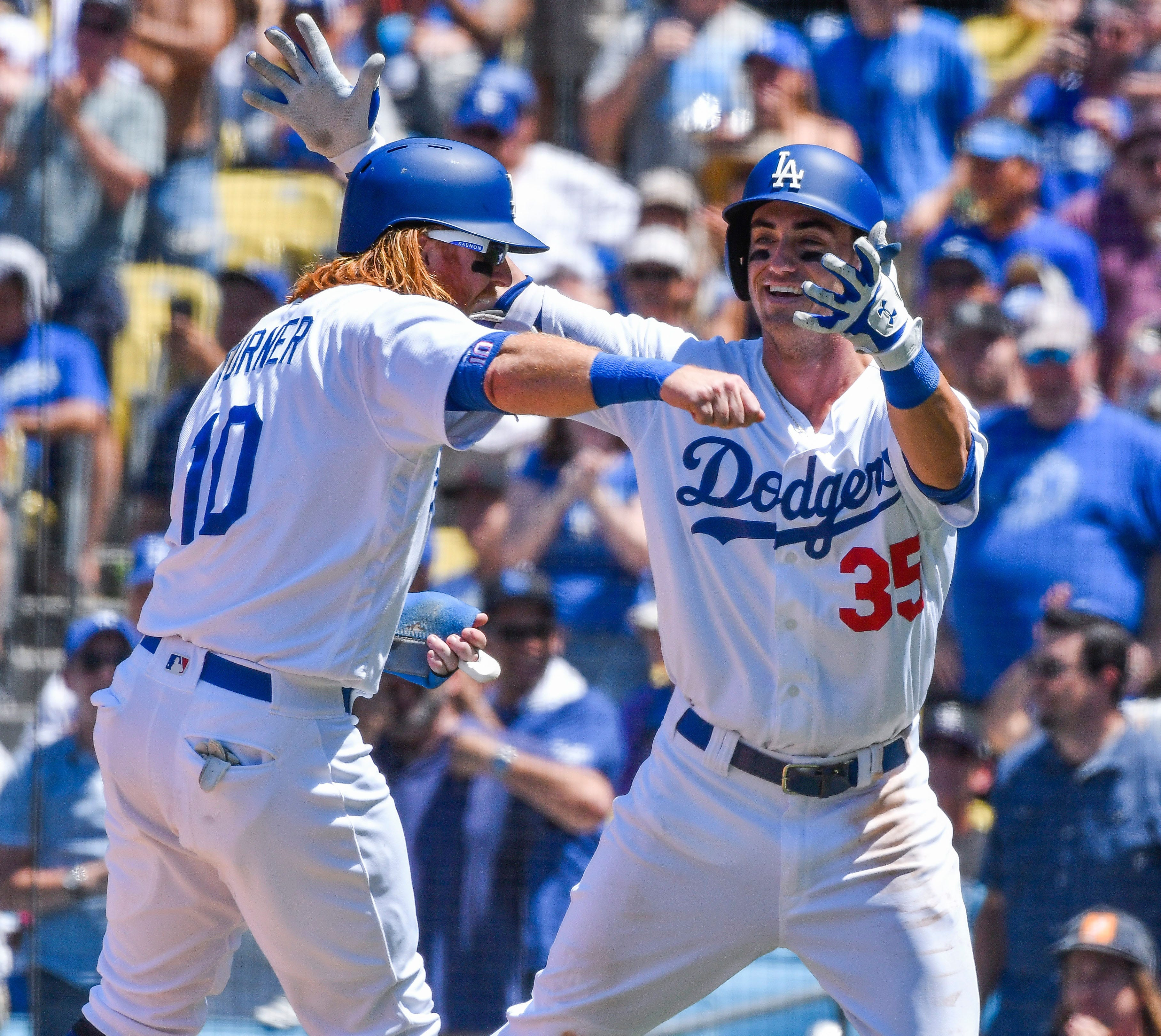 636340731360470856-USP-MLB--Colorado-Rockies-at-Los-Angeles-Dodgers MLB home run fever: Five more crazy facts