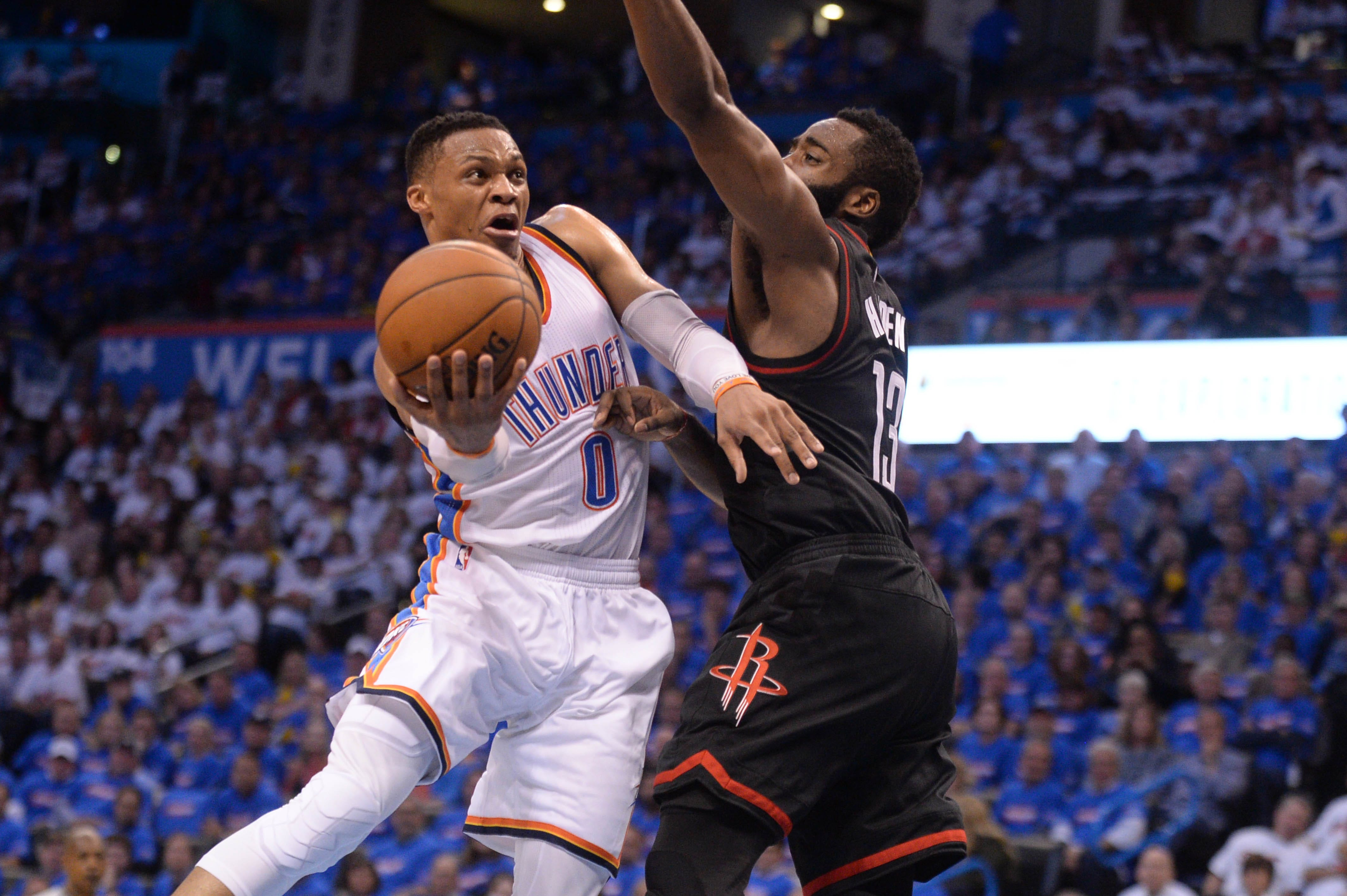 Thunder's Russell Westbrook wins NBA MVP, but award show does him no favors