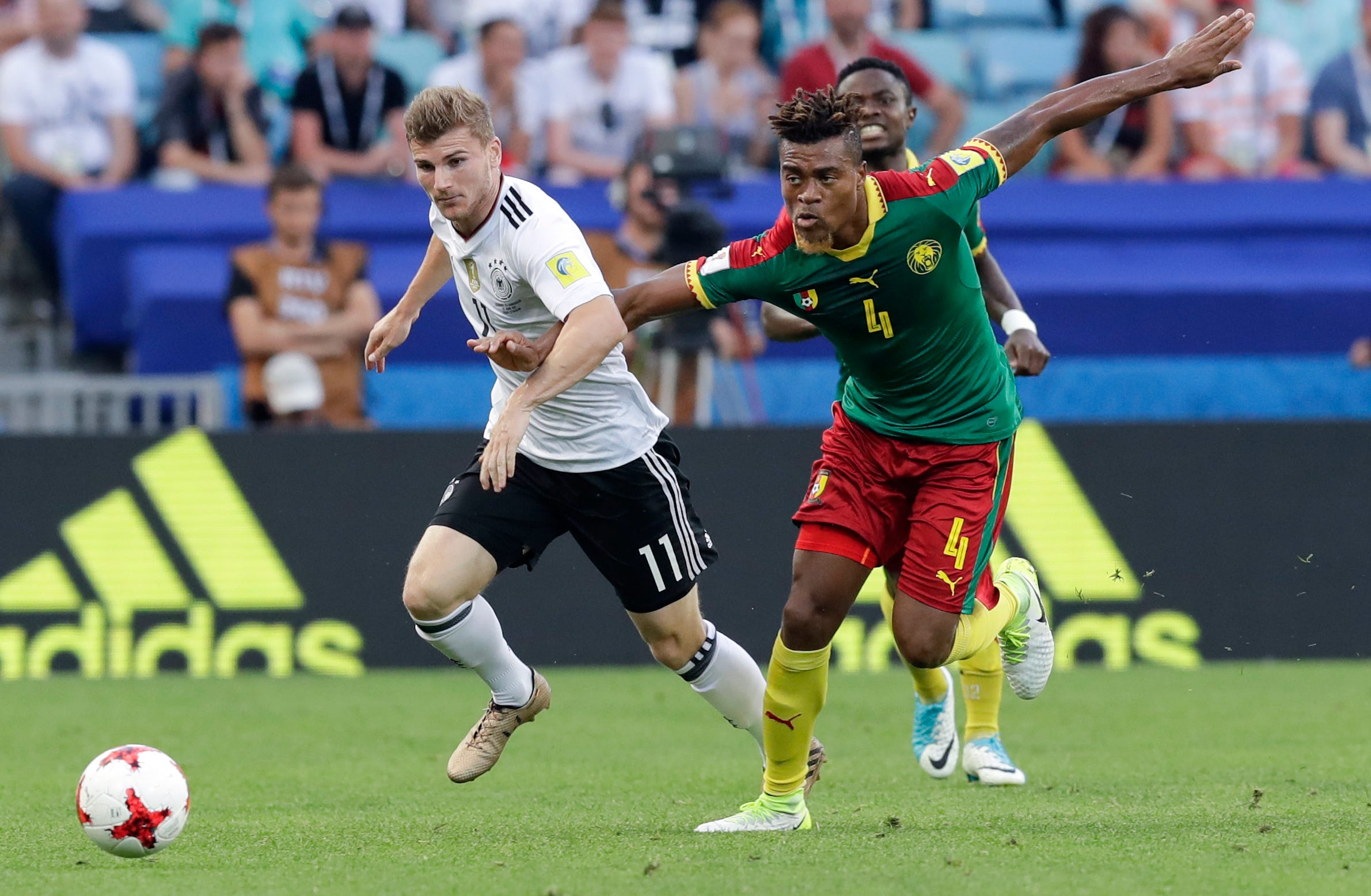 Timo Werner abused in Germany but key to World Cup defense