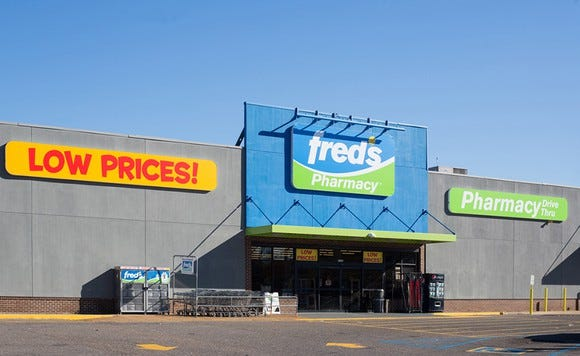 Fred's to close 159 stores and start clearance sales at 360 locations
