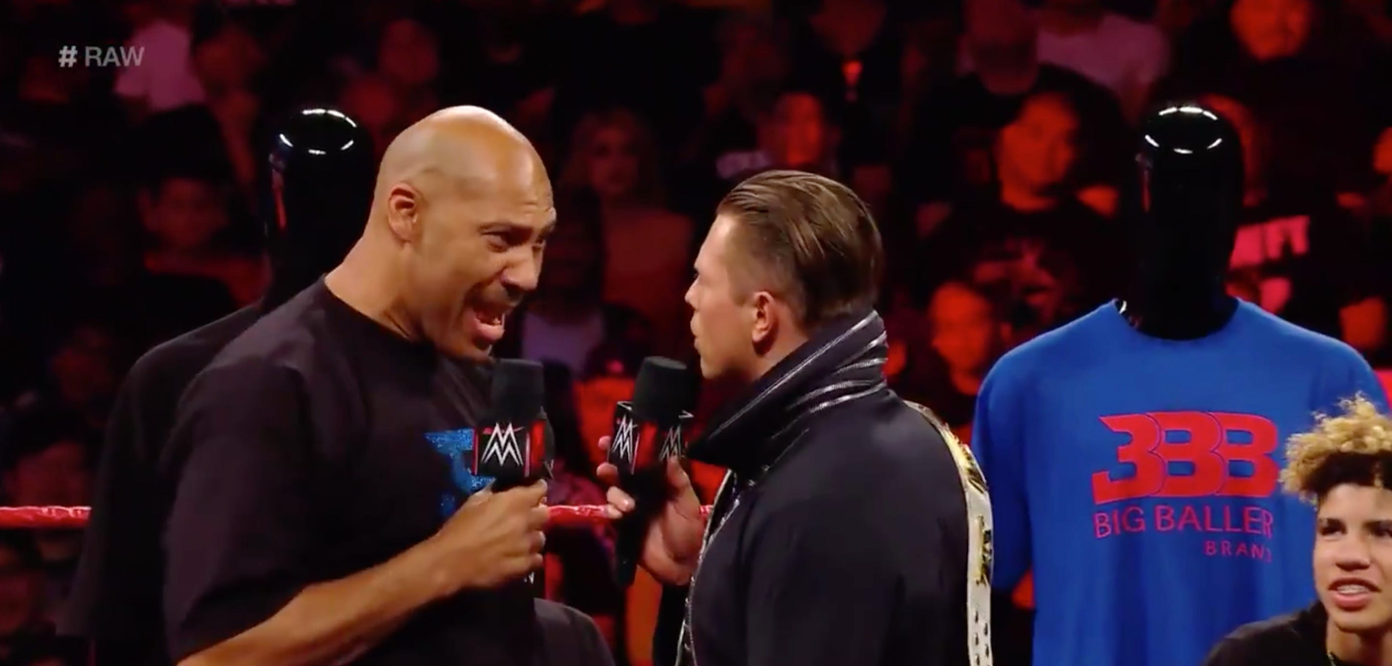 LaVar's appearance on 'RAW' was all about BBB