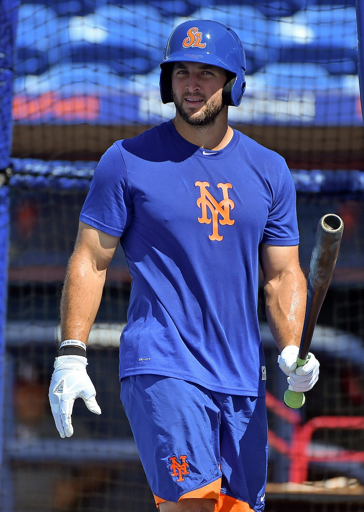 the latest 3e7a6 6ac68 NY Mets GM thinks Tim Tebow can reach majors