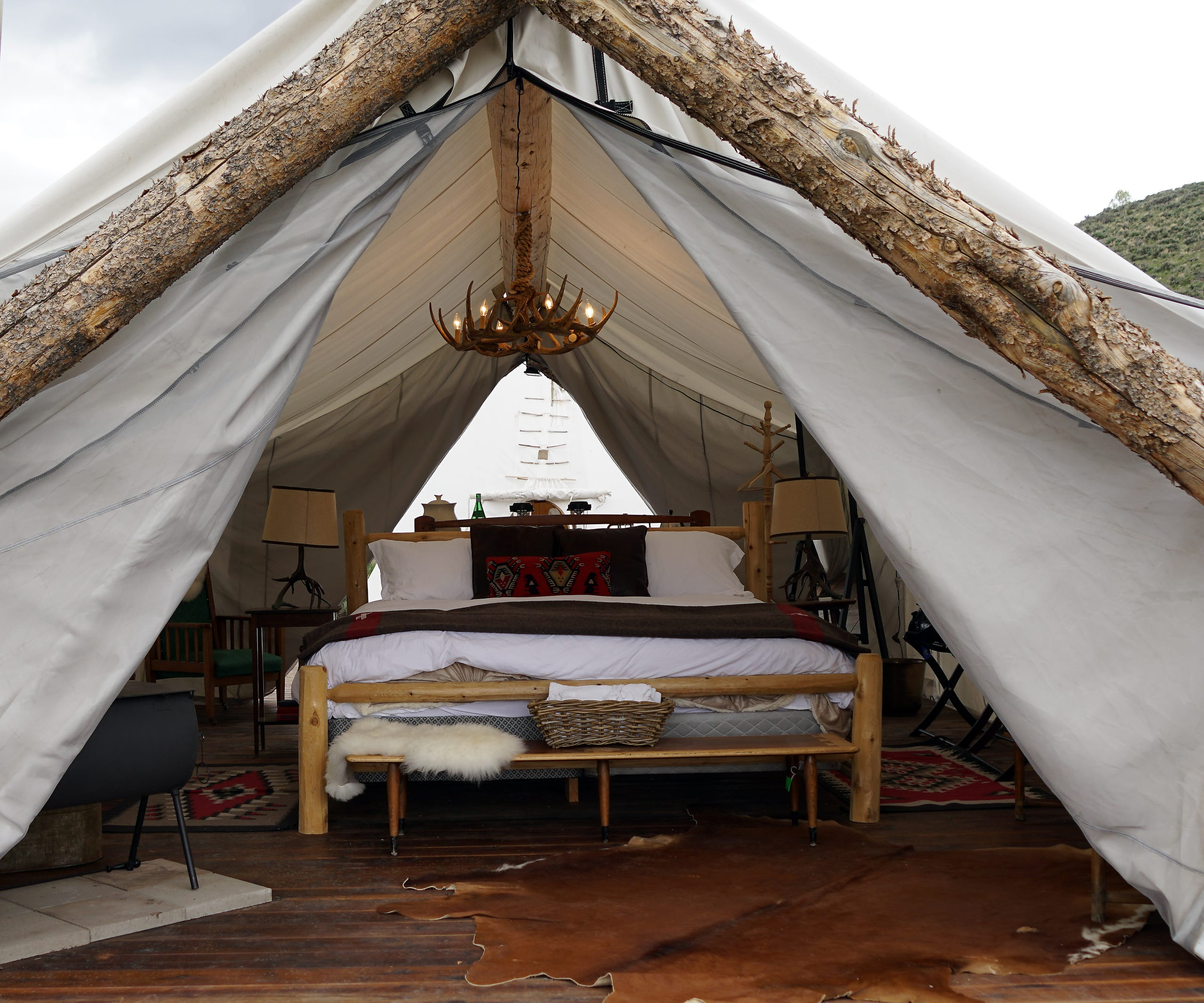 'Glamping' across America: Putting the glamour into camping