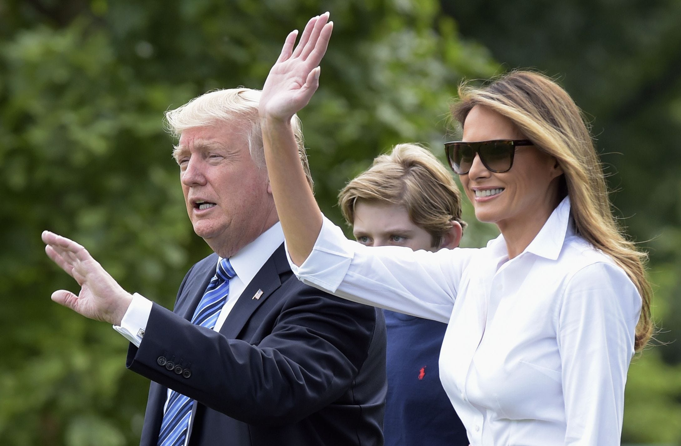 636345304875789870-AP-TRUMP-92061499 After moving to D.C., Melania Trump is becoming more vocal