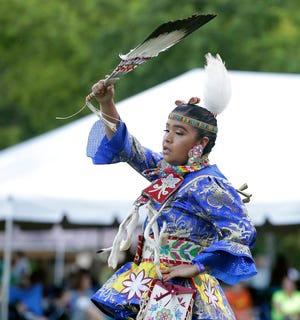 The 45th annual Oneida Pow Wow is being held June 30 to July 2, 2017 in Oneida, Wis. The event includes dance competitions and a variety of vendors.