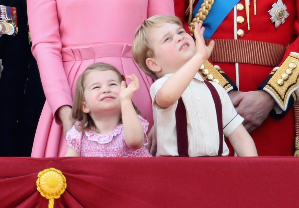 Prince George, Princess Charlotte set to charm Poland