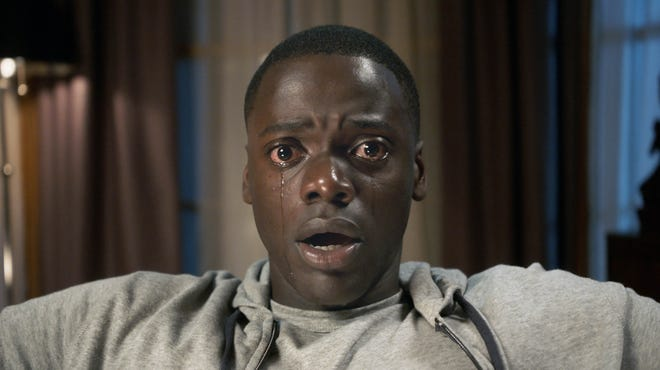 """Daniel Kaluuya stars as a young Black man who finds out the sinister reason he was invited to meet his girlfriend's family in """"Get Out."""""""