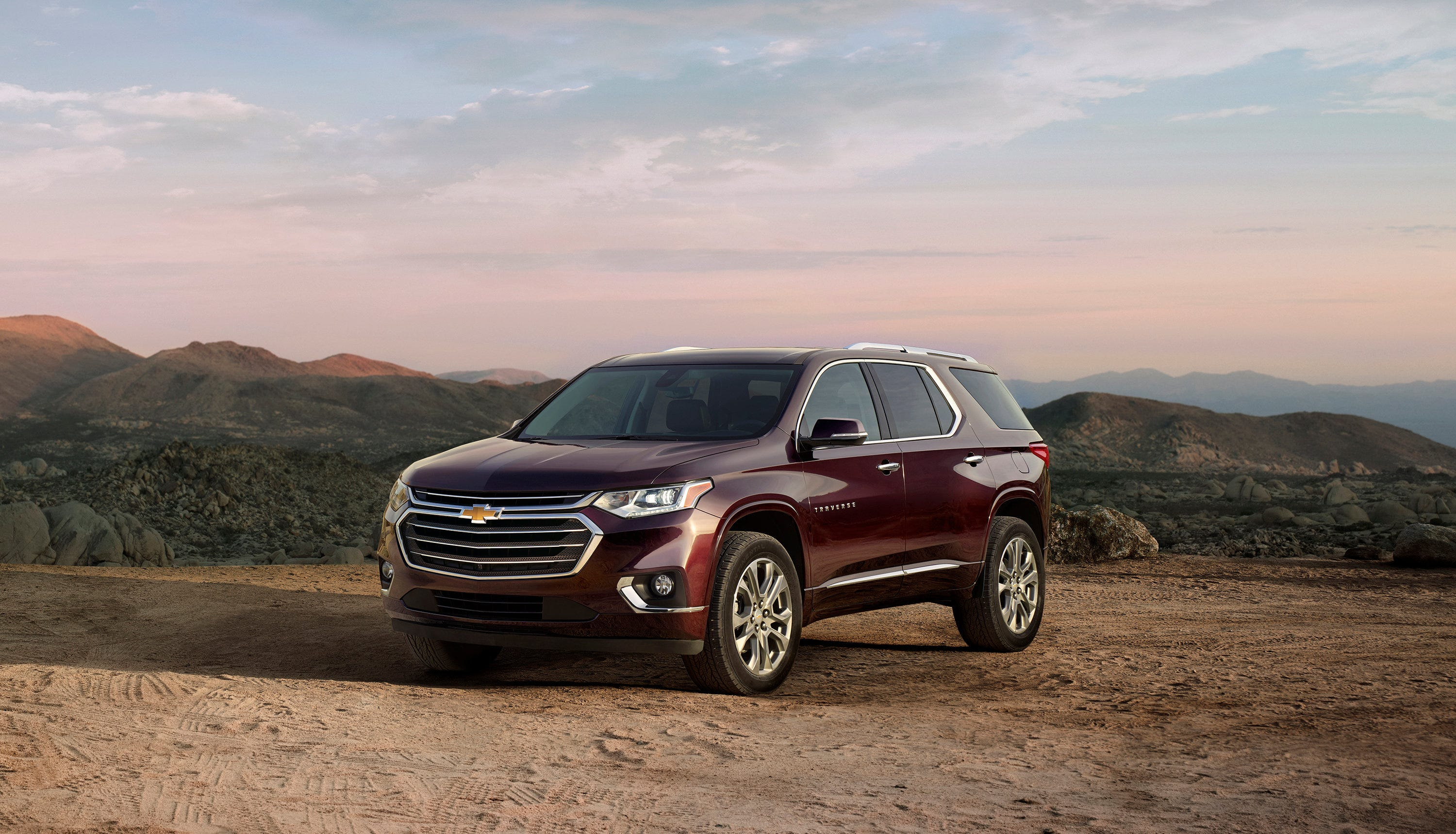Utility of the Year nominee: The Chevrolet Traverse