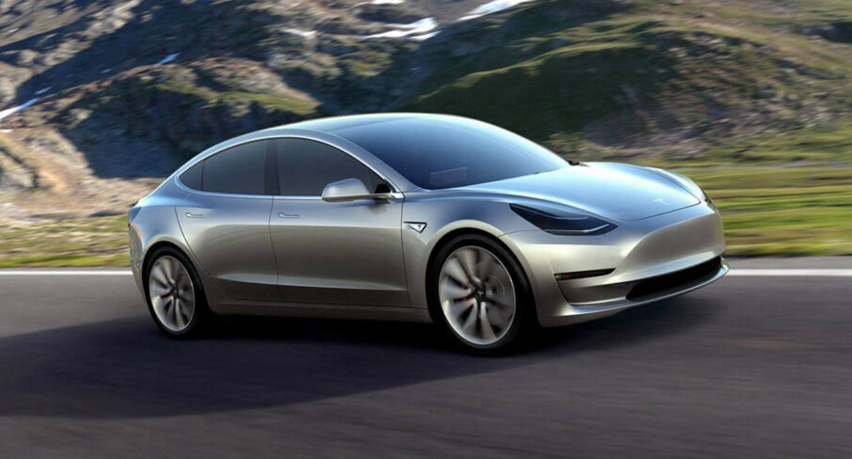 Car of the Year nominee: The Tesla Model 3