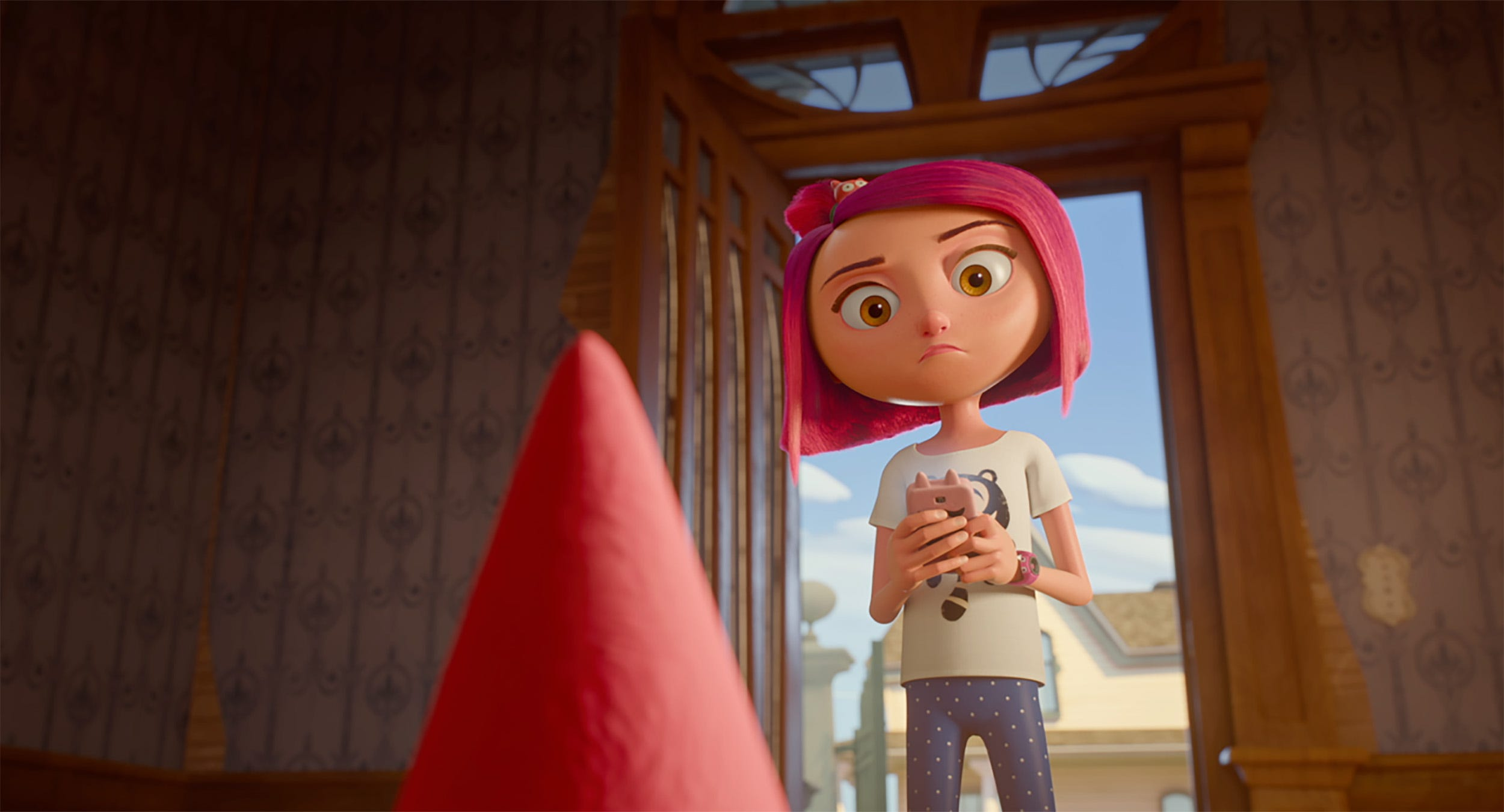 See Becky G get animated in exclusive new  Gnome Alone  trailer
