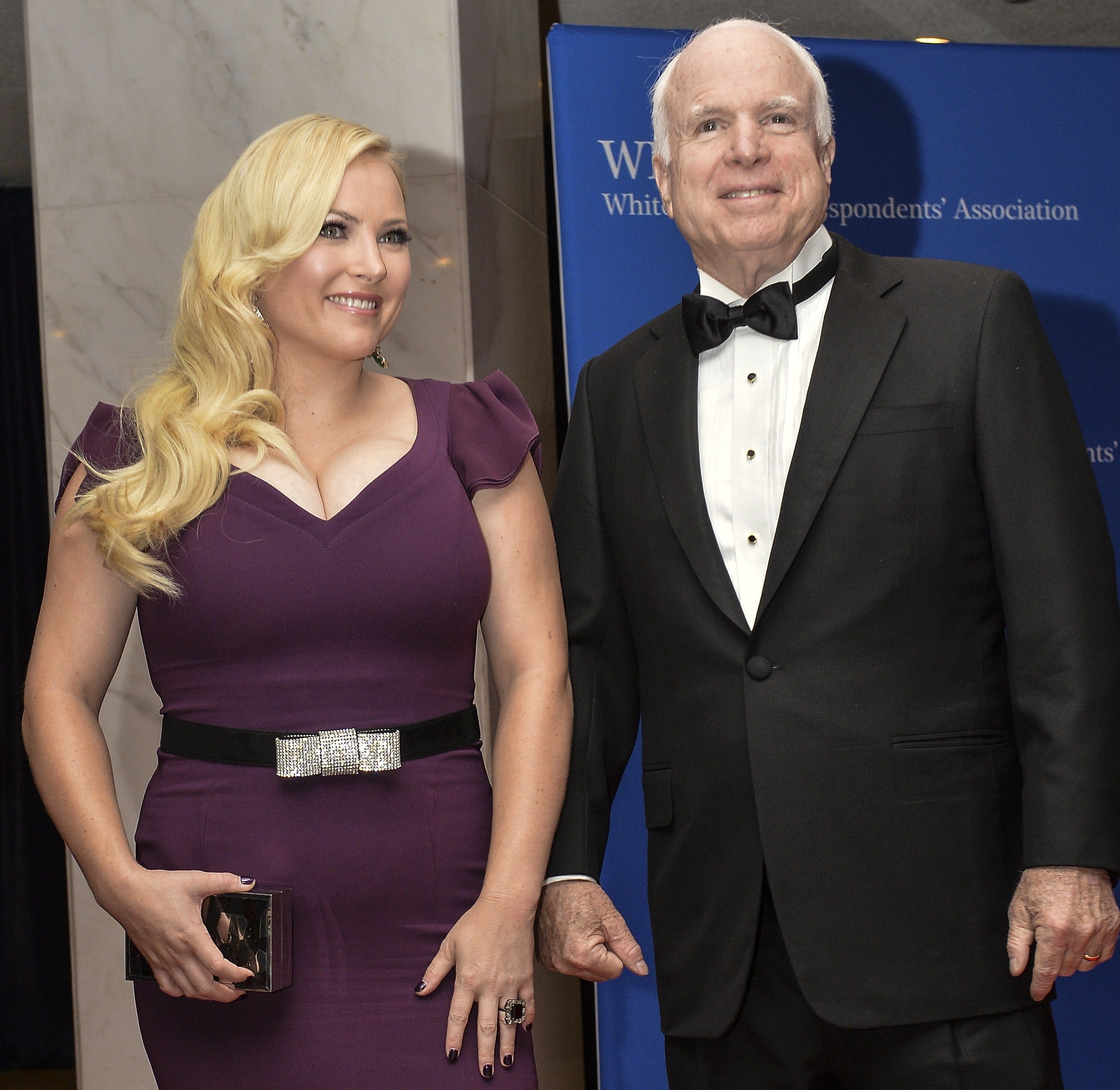 Meghan McCain Tweets Photo Of 'amazing Hike With Dad
