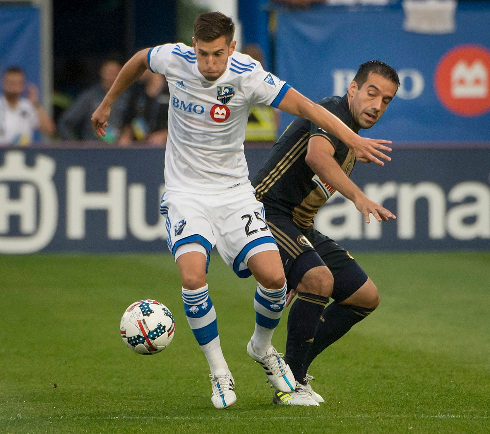 Blerim Dzemaili scores to help Impact beat Union 2-1