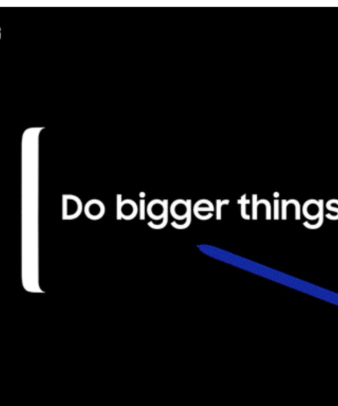 Samsung looks to go bigger than ever with Note 9