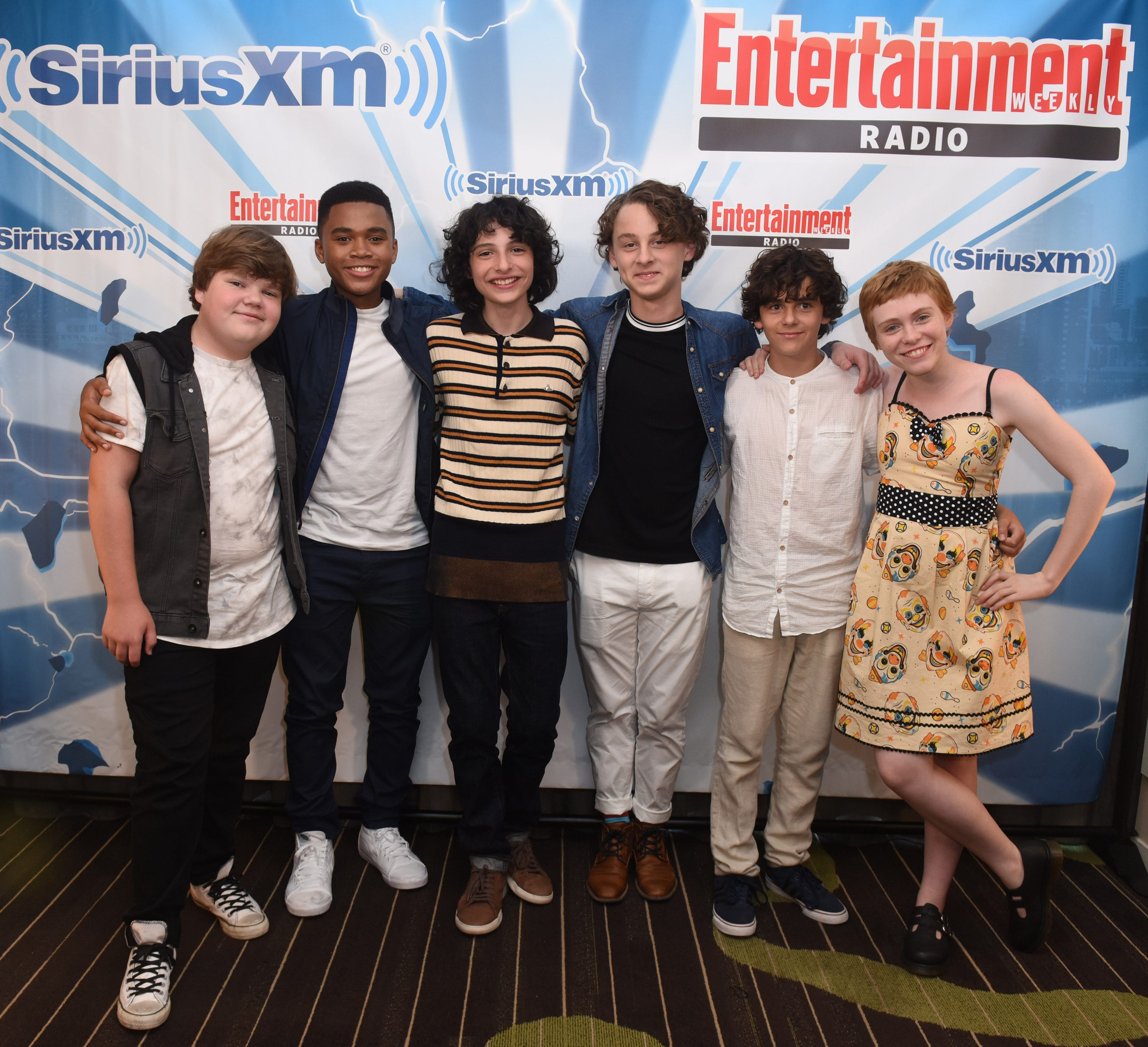 Comic-Con 'It' stars had their 'favorite summer ever' with Pennywise