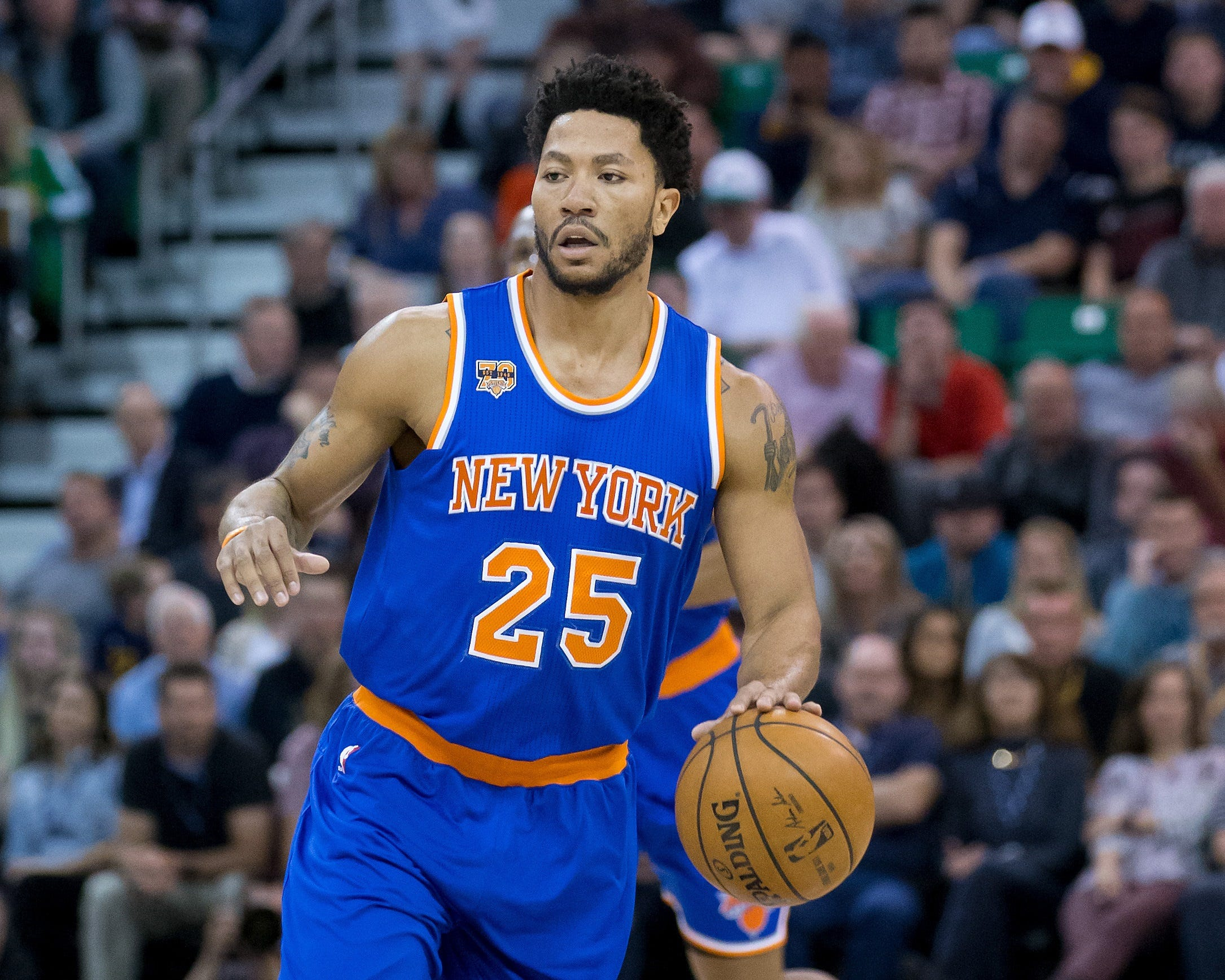 Cavaliers sign former NBA MVP Derrick Rose to one-year contract