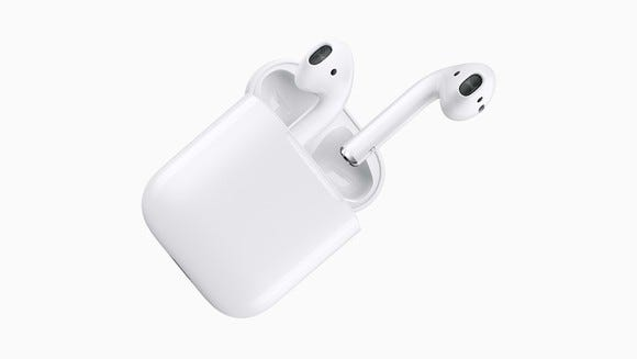 Tech's best: My 10 favorite cameras, gadgets and more of 2017 - apple airpods open 01 large - Tech's best: My 10 favorite cameras, gadgets and more of 2017