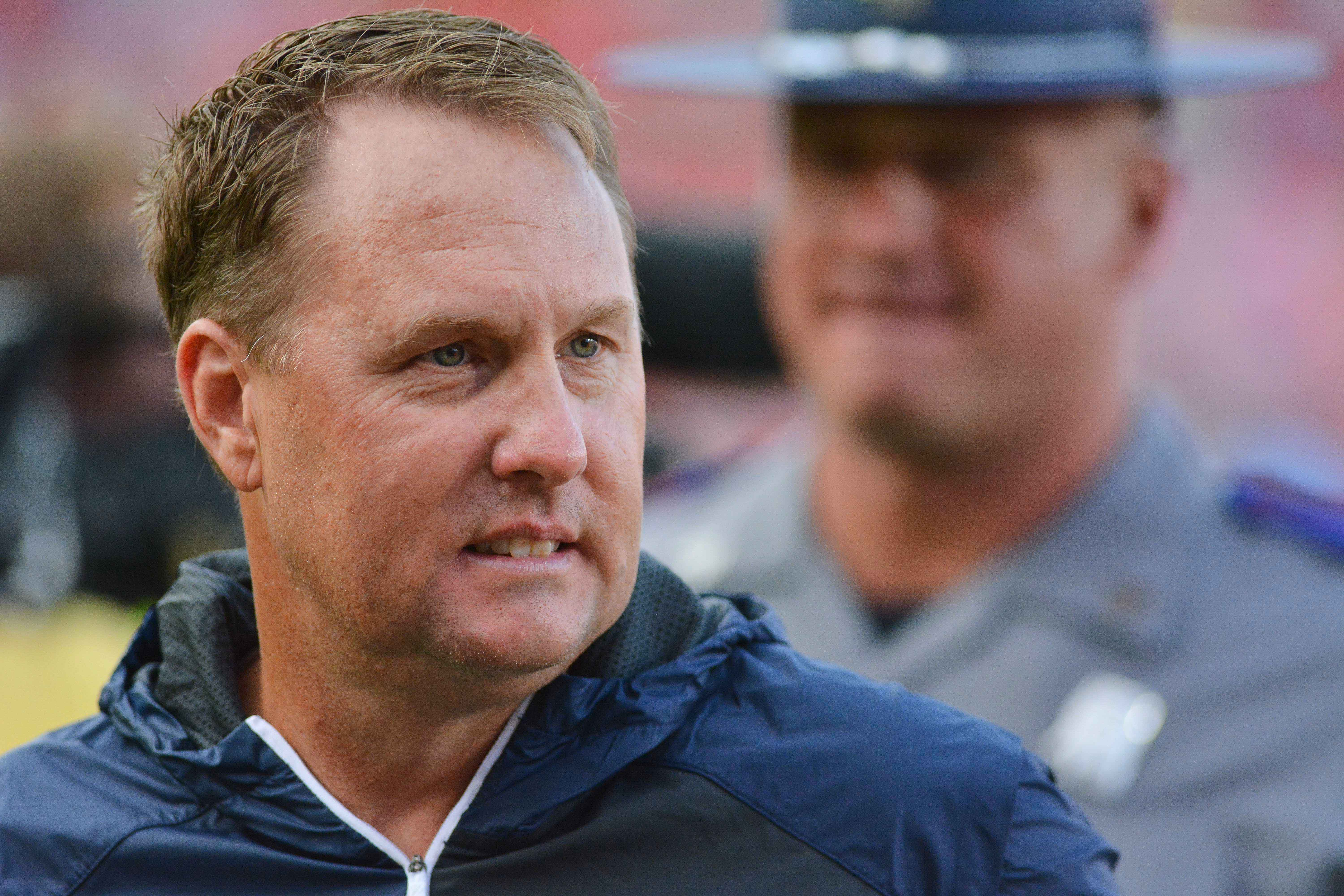 Hugh Freeze speaks: 'God is good, even in difficult times'