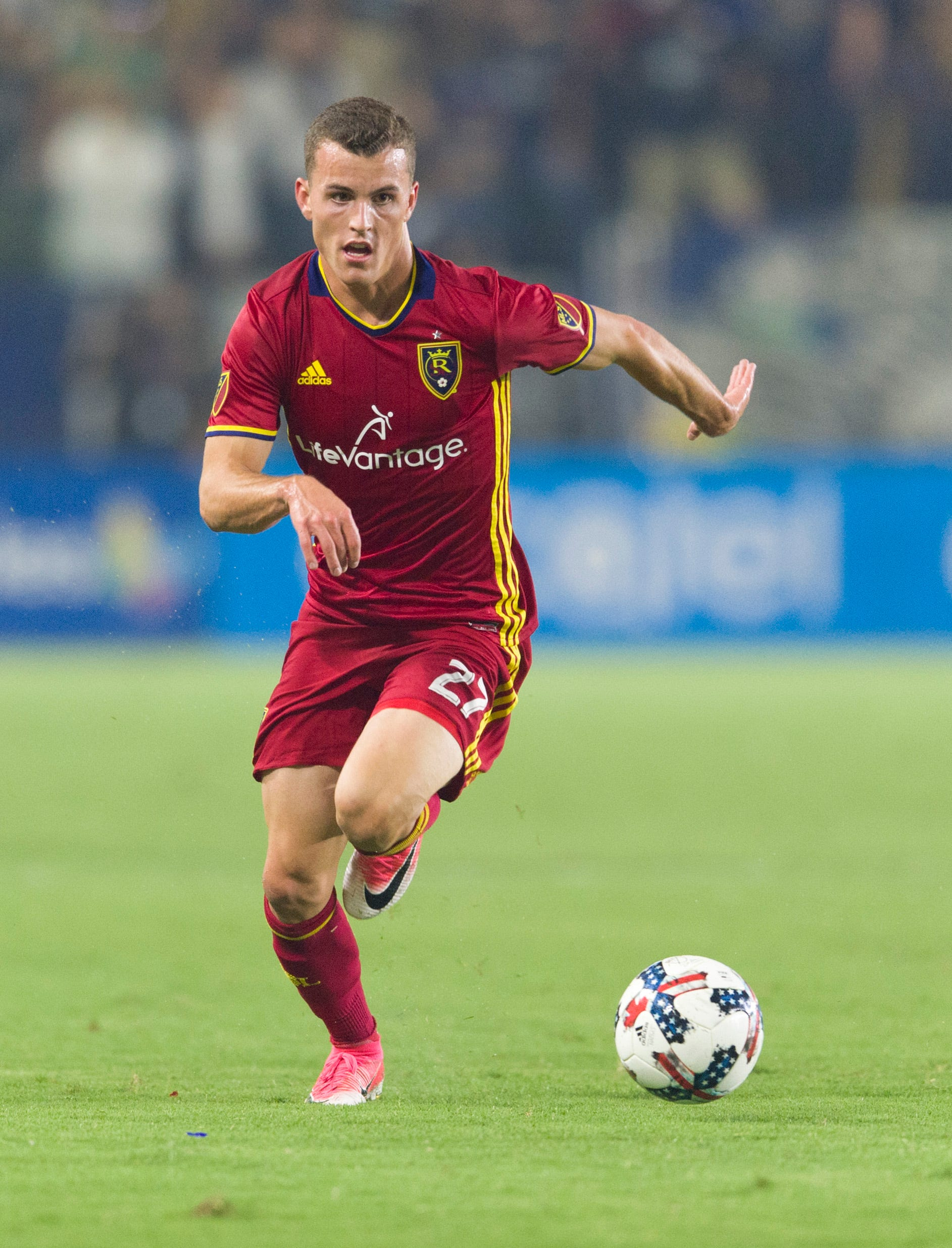 Real Salt Lake rookie Brooks Lennon making most of opportunity while on loan from Liverpool