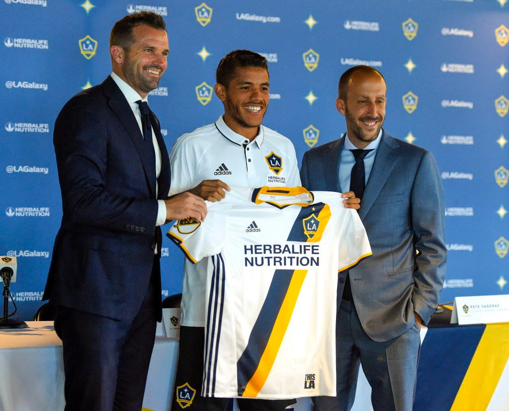 Jonathan Dos Santos thrilled to join brother Gio with Los Angeles Galaxy