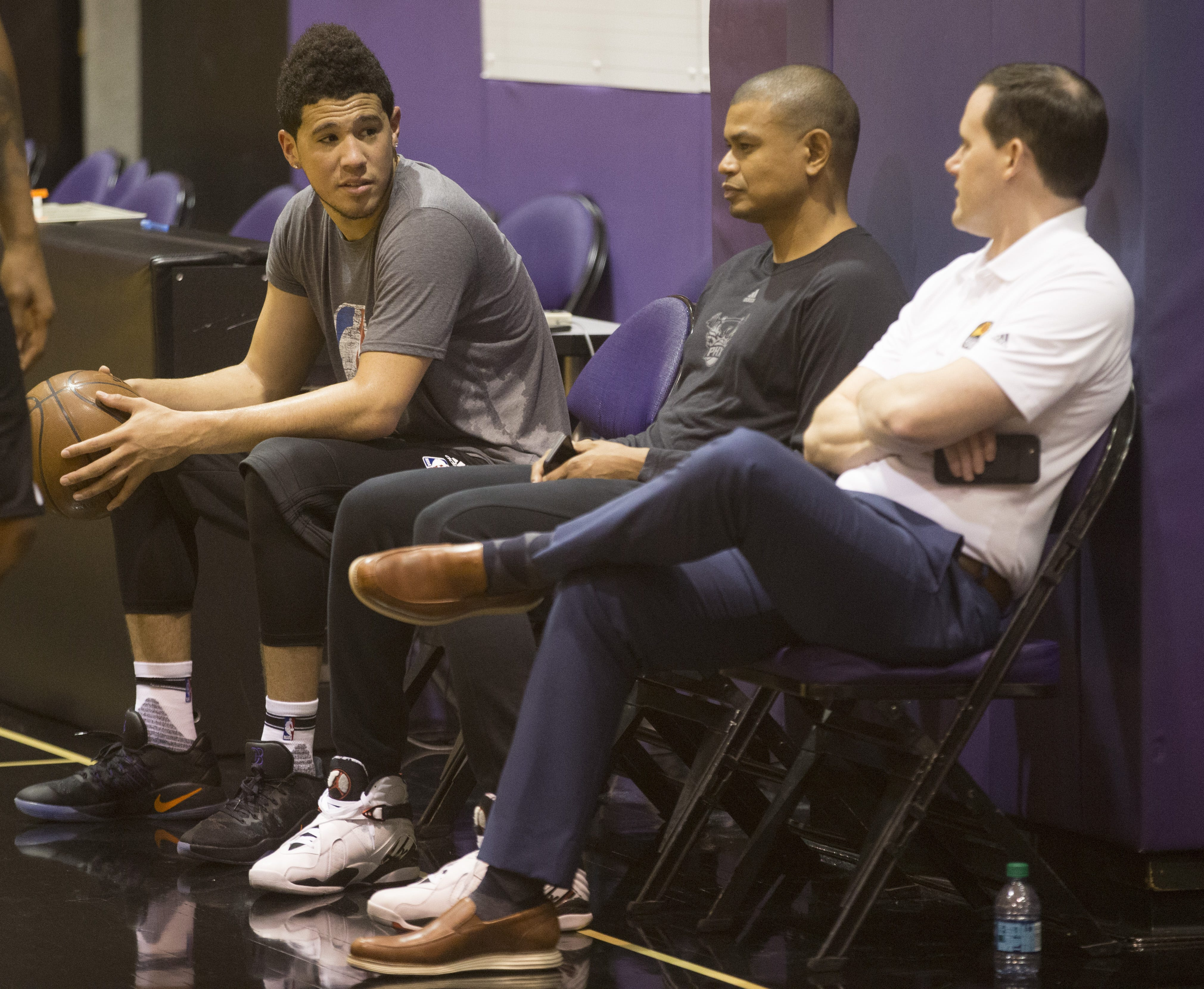Former Phoenix Suns coach Earl Watson says he fought for Devin Booker, hope of franchise