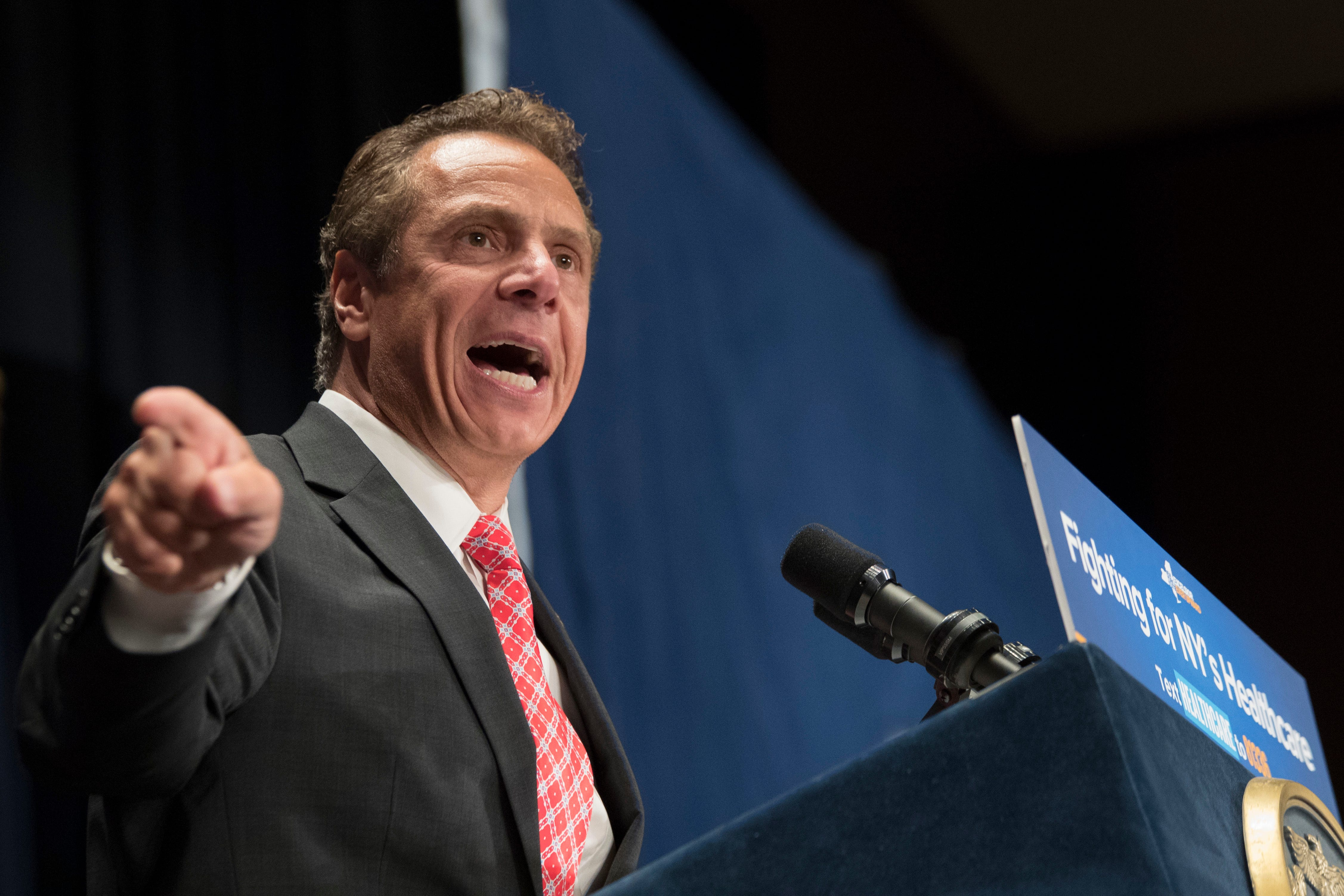 Cuomo: Female reporter's question on sex harassment was 'disservice to women'