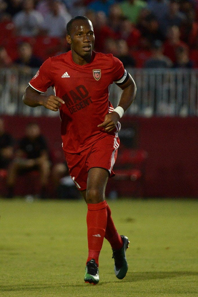 Watch: Didier Drogba scores incredible free kick for Phoenix Rising FC vs. L.A. Galaxy II