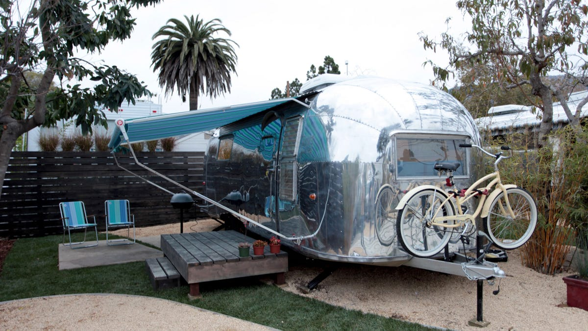 Airstream trailers get innovative second lives