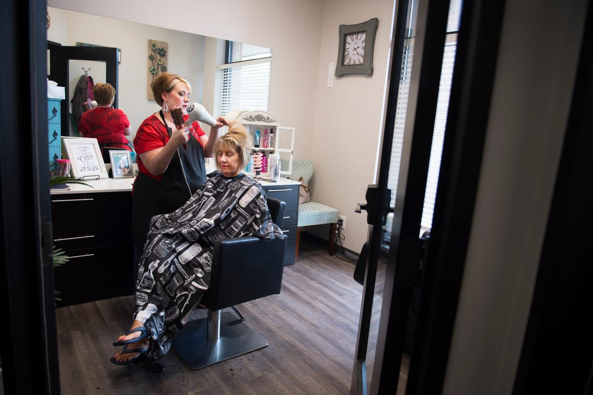 Greenville's Doris Haley MIXes business with family