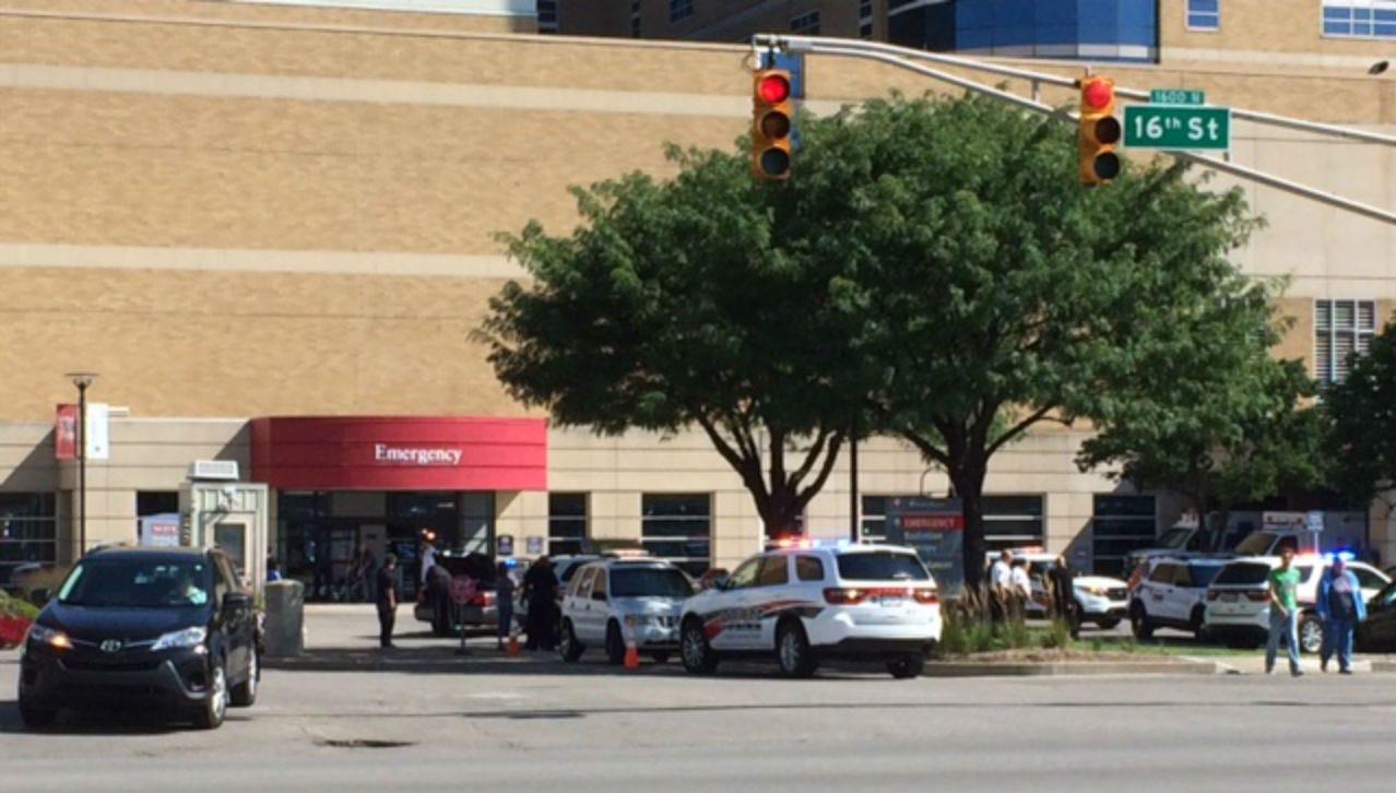 Southport officer hit by car near Methodist Hospital - Geist