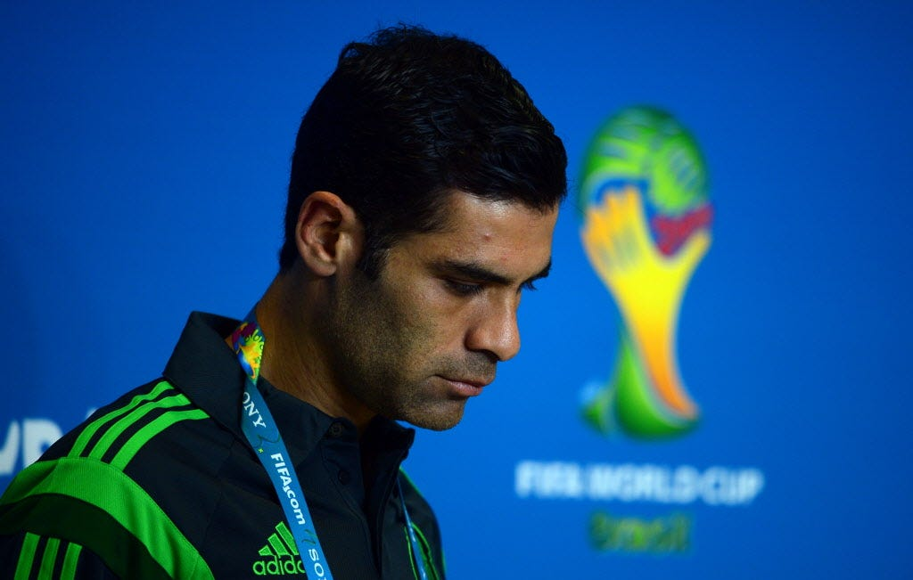 Mexico soccer star Rafa Marquez among 22 sanctioned for drug ties
