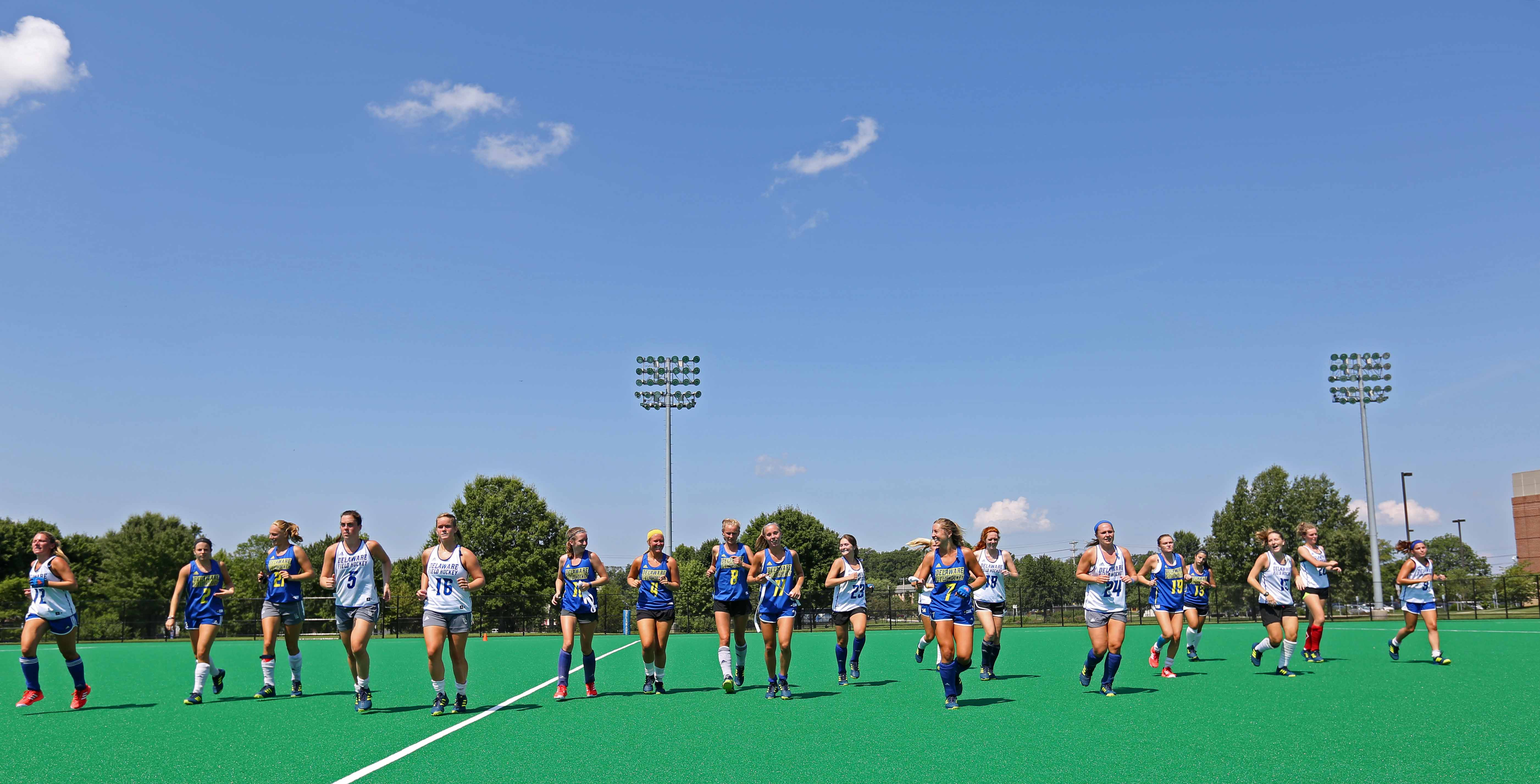 Having been there and done that, NCAA champ Hens again start with big field hockey goals
