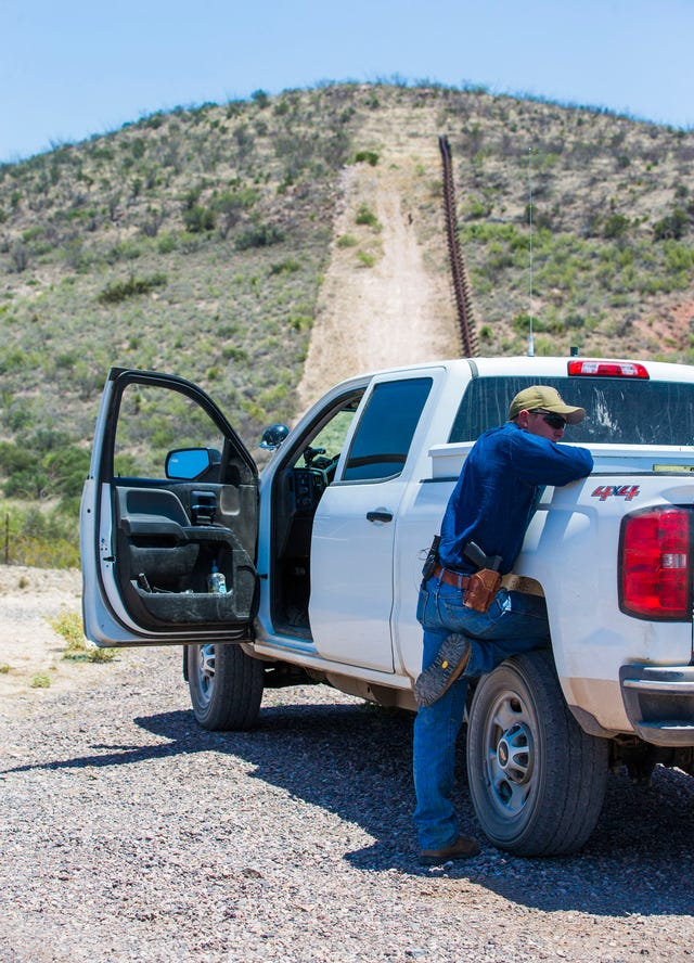 Border ranchers, in a world without a wall