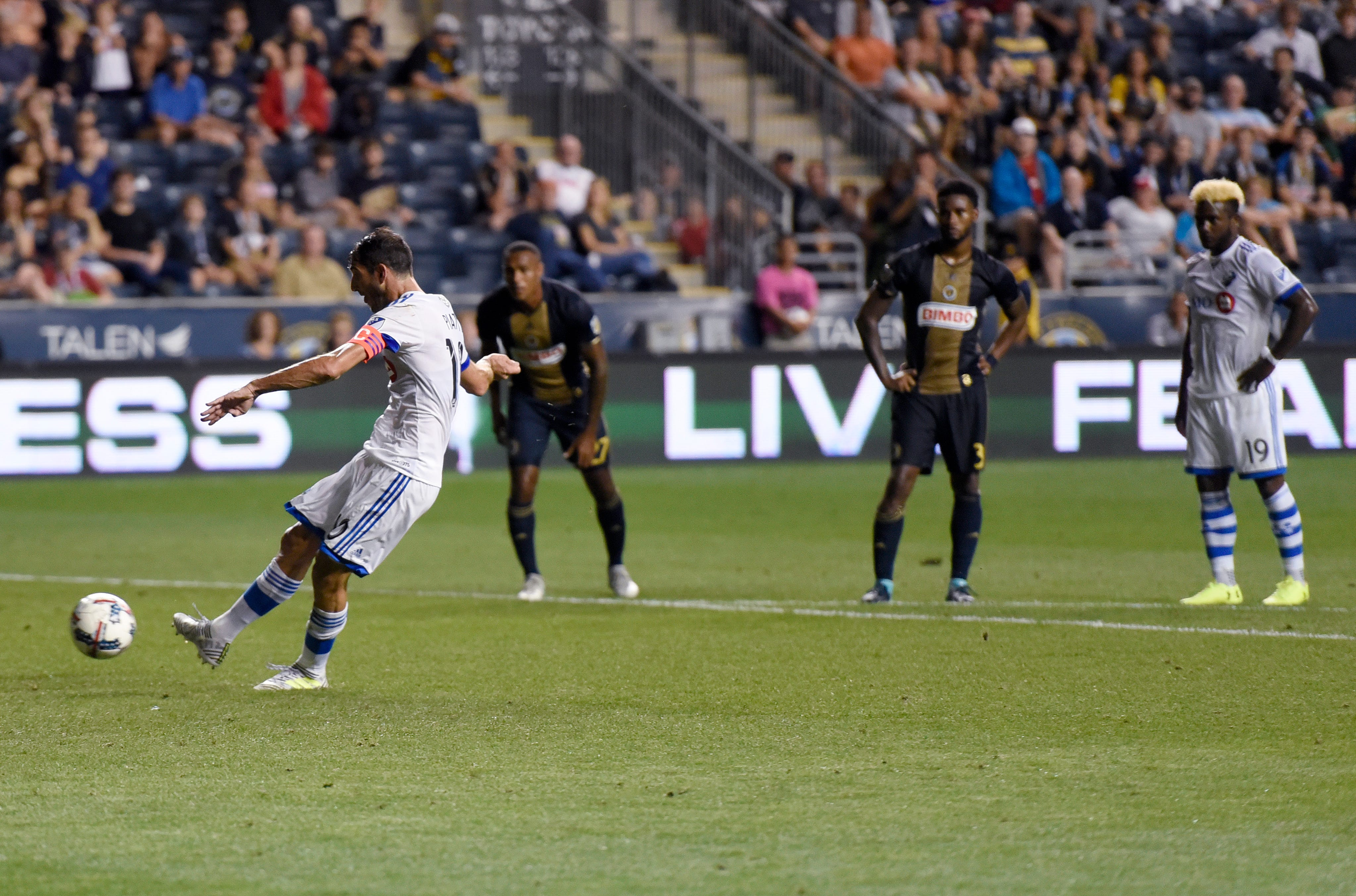 Dzemaili leads Impact to 3-0 win over Union